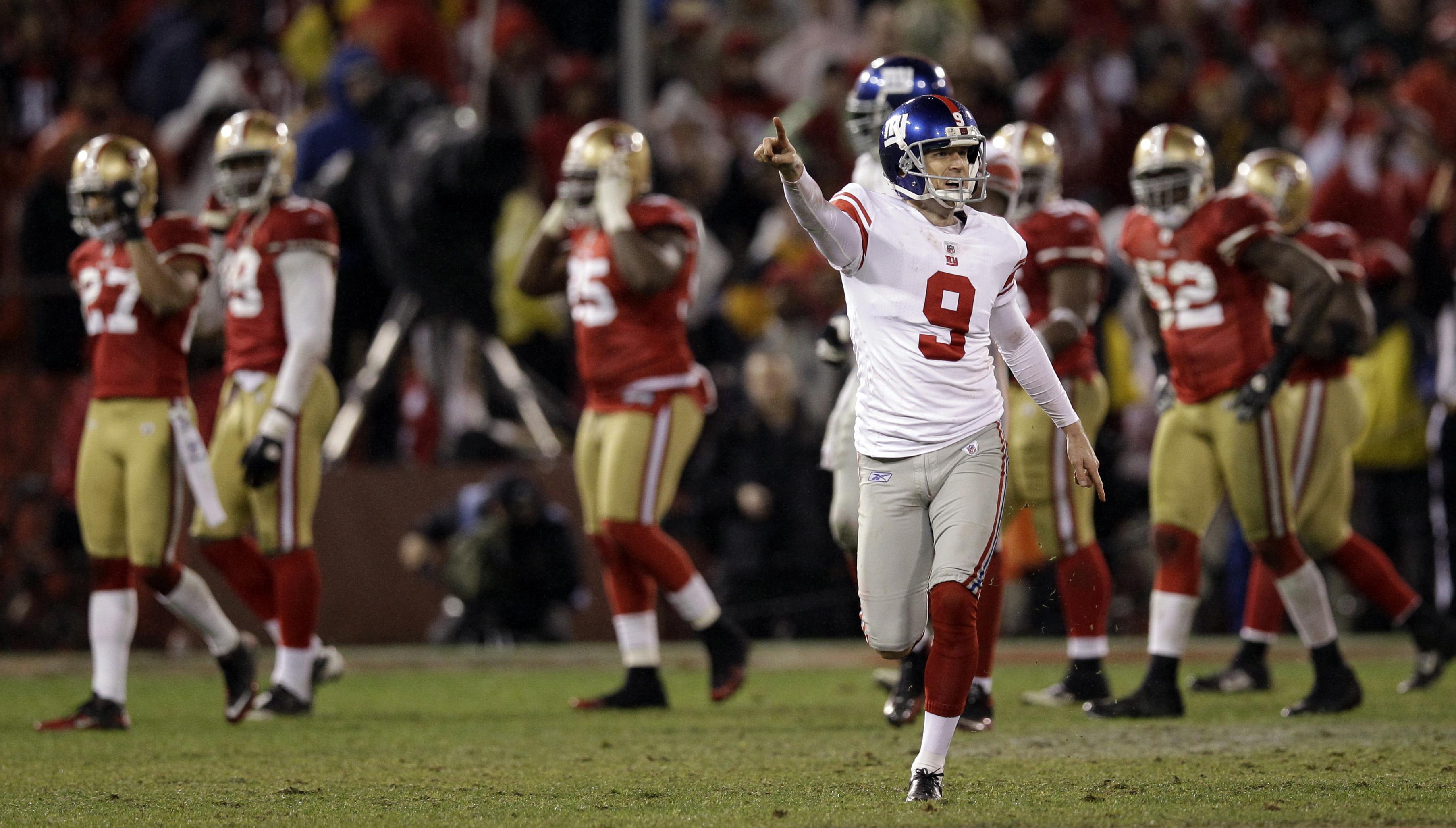 Tynes' OT boot vs. 49ers sends Giants into Super Bowl - Washington ...
