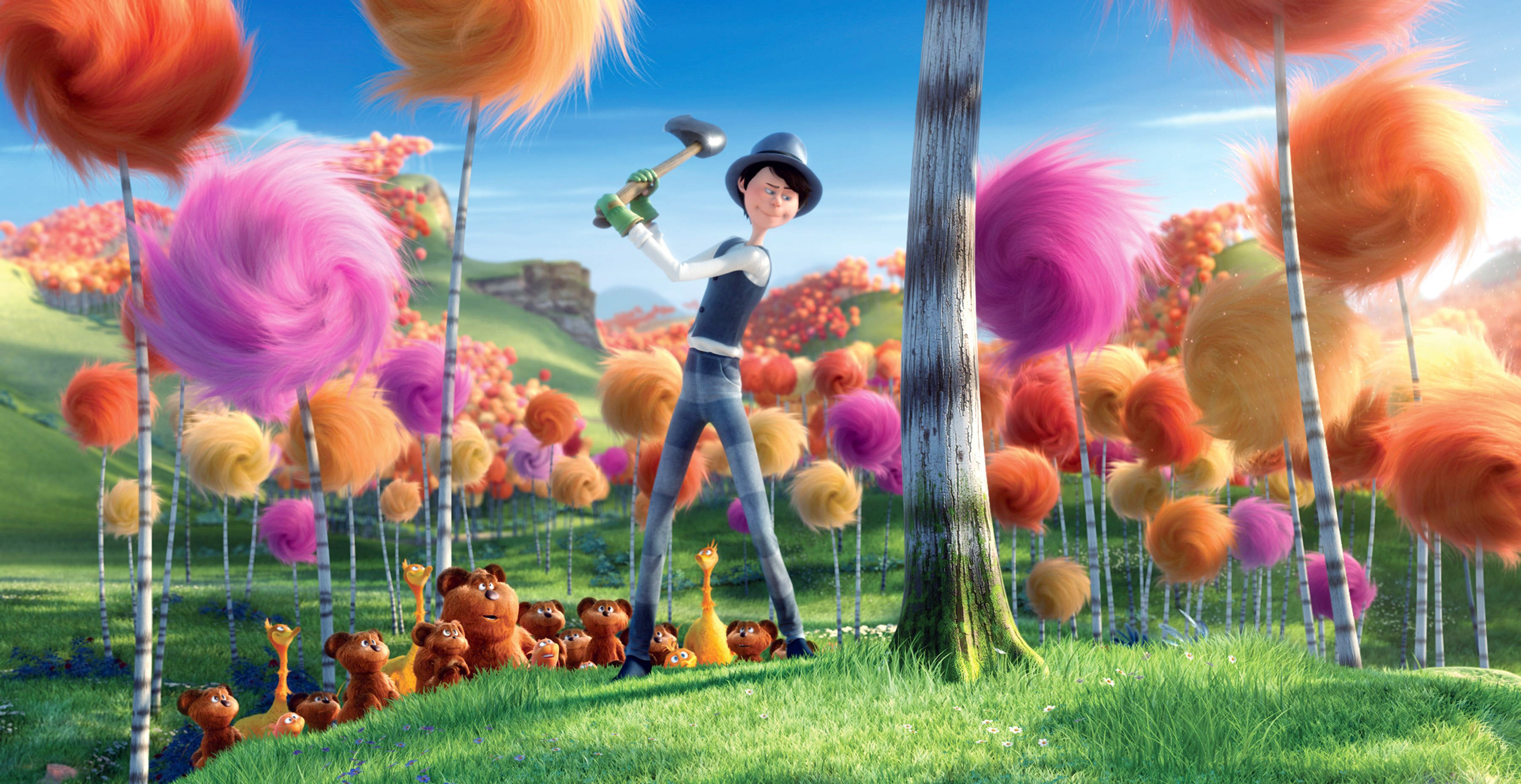 Movie Review The Lorax Cuddly Cartoon Agitprop The Unabomber