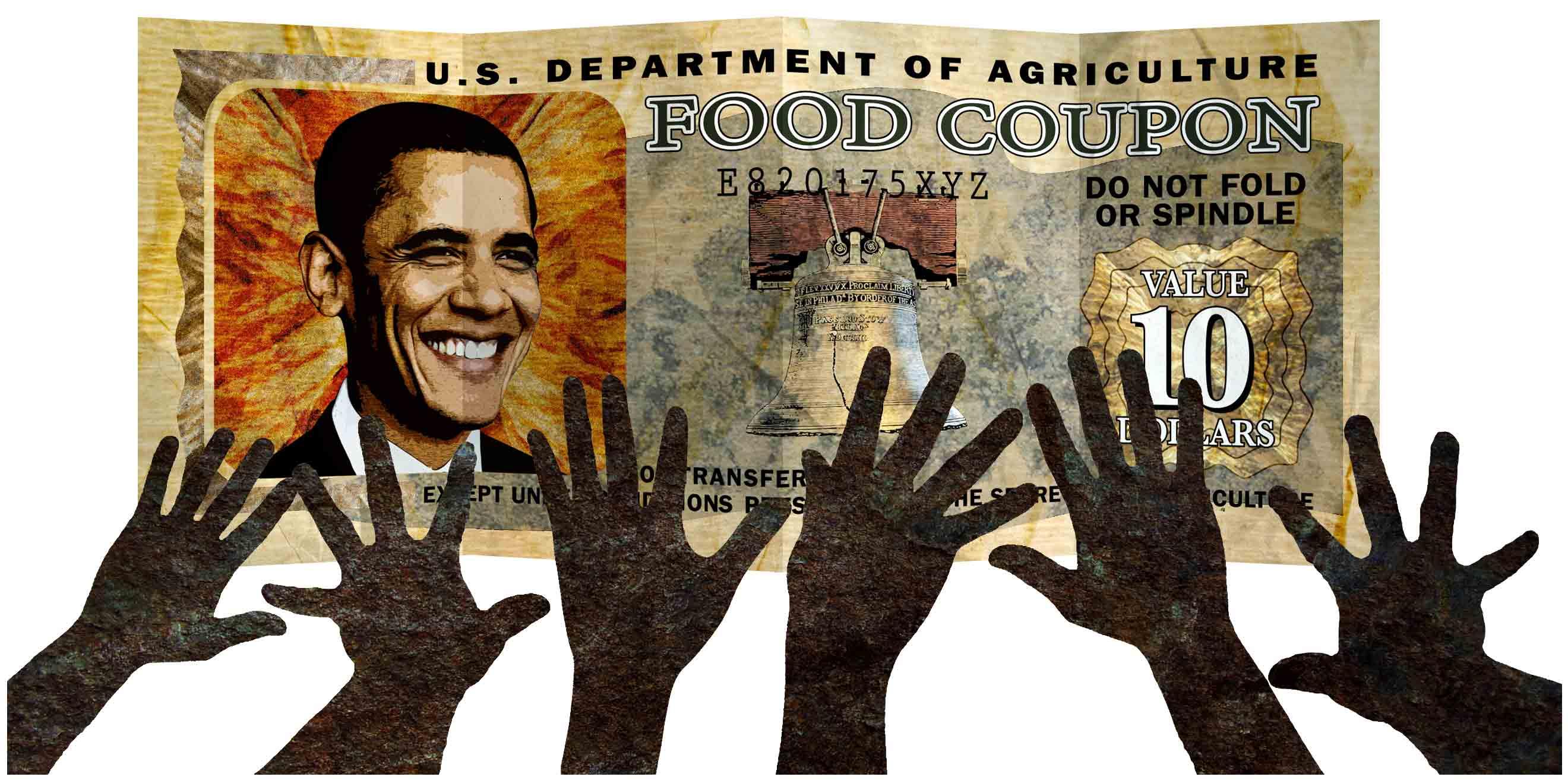 Food Stamp President Enrollment Up 70 Percent Under Obama