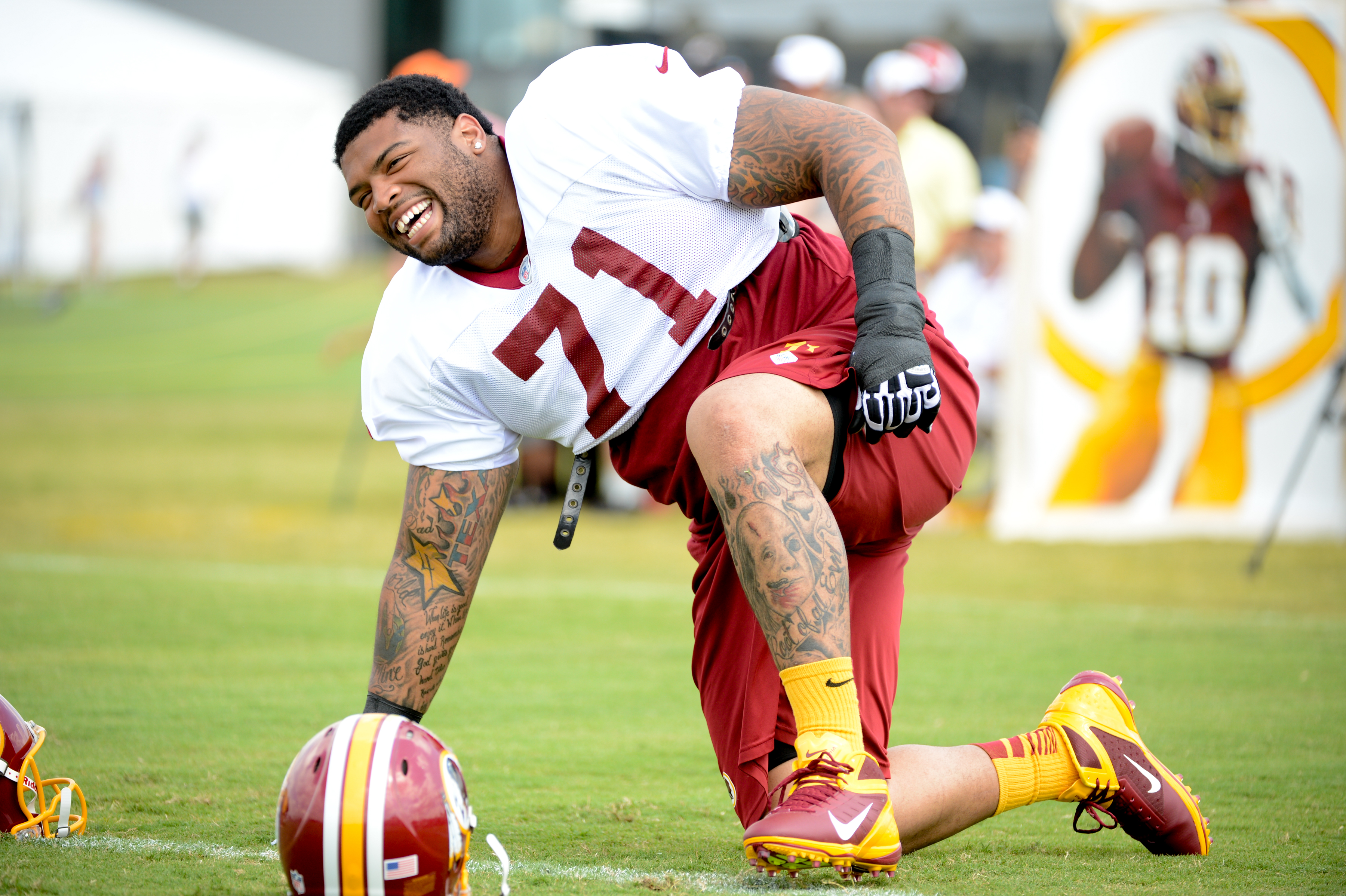Redskins notes Trent Williams claims umpire cursed at him during