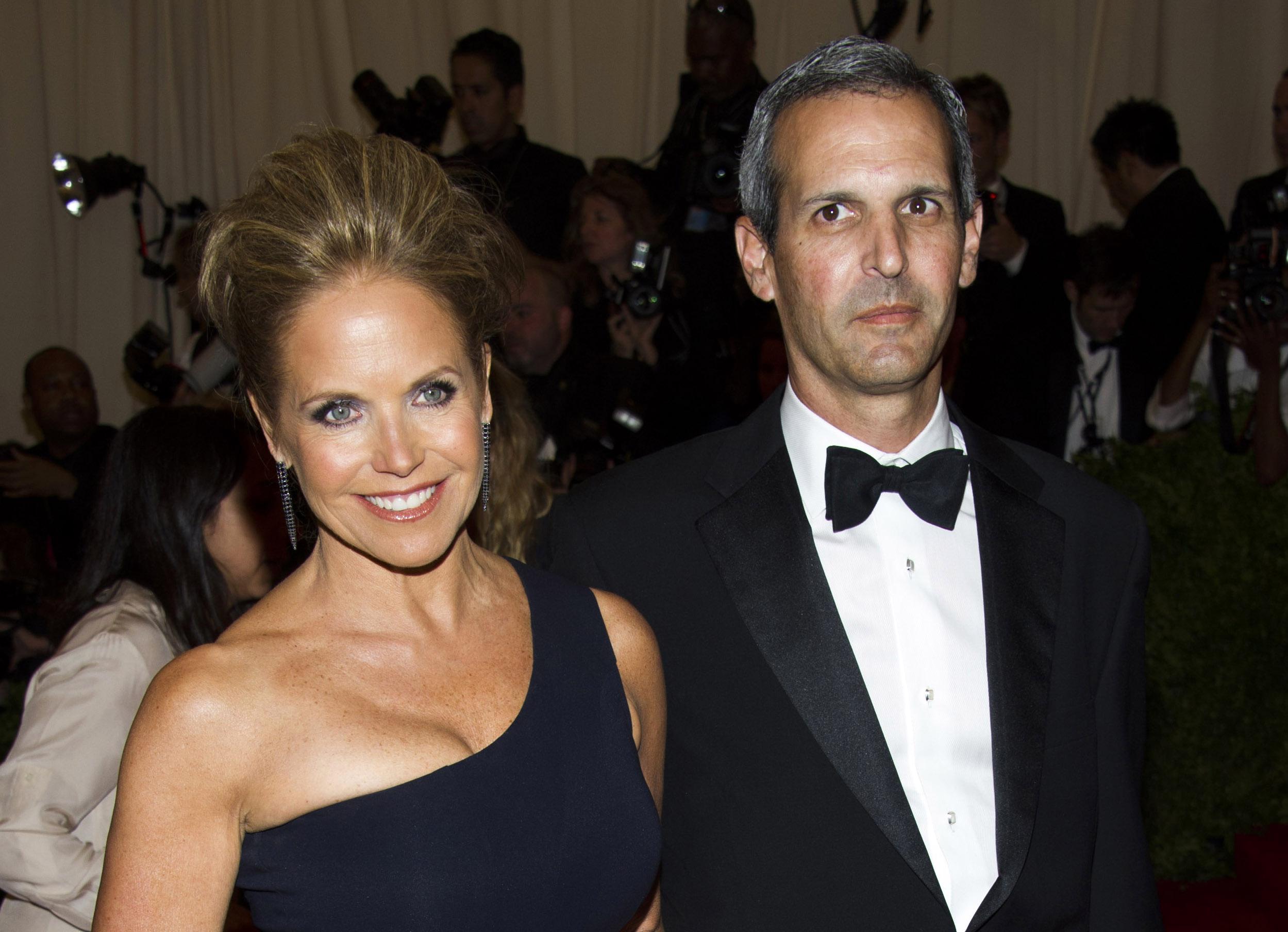 Talk-show host Katie Couric engaged to financier John ...  Talk-show host ...