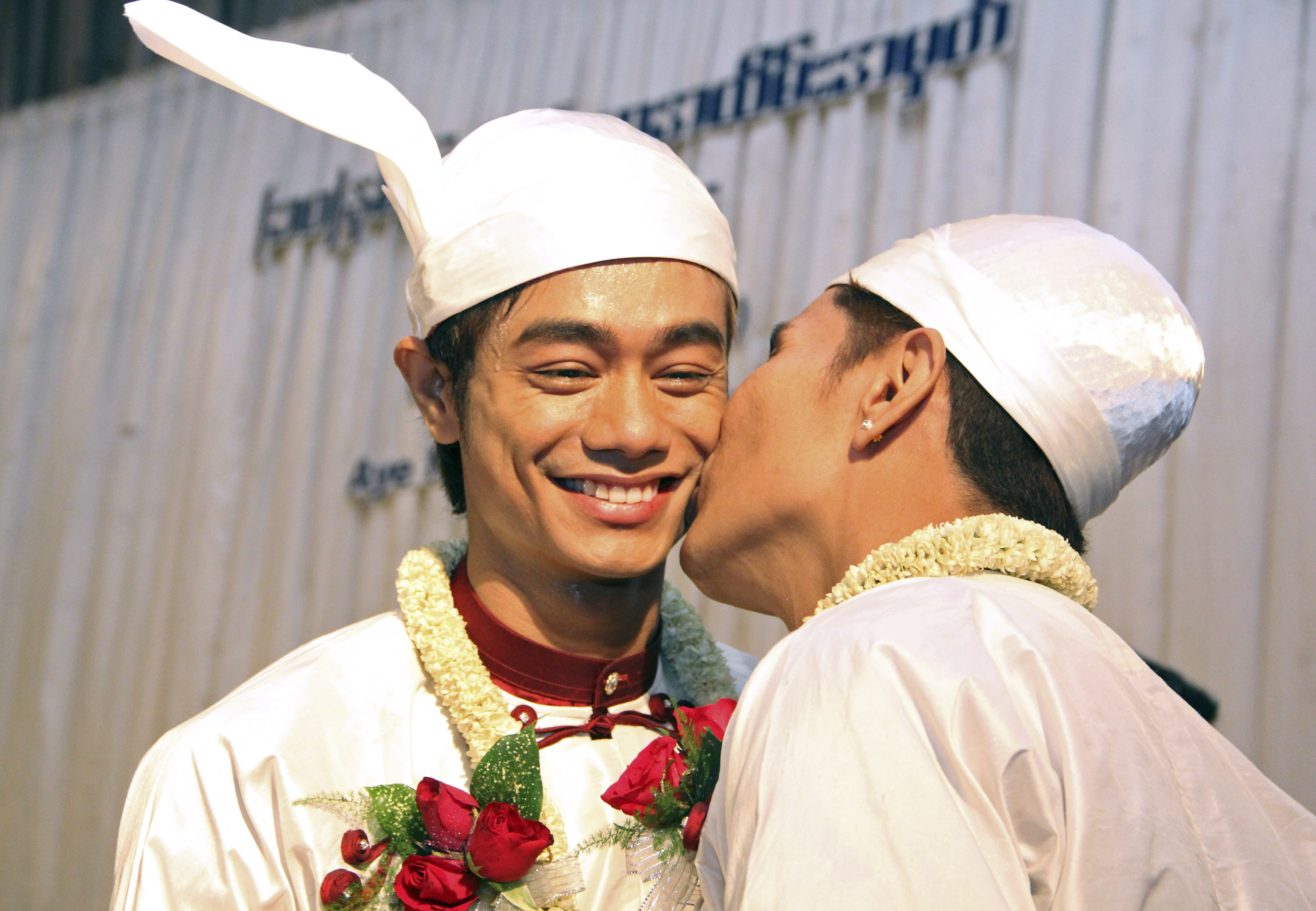 Myanmar Couple Holds First Public Gay Wedding Ceremony
