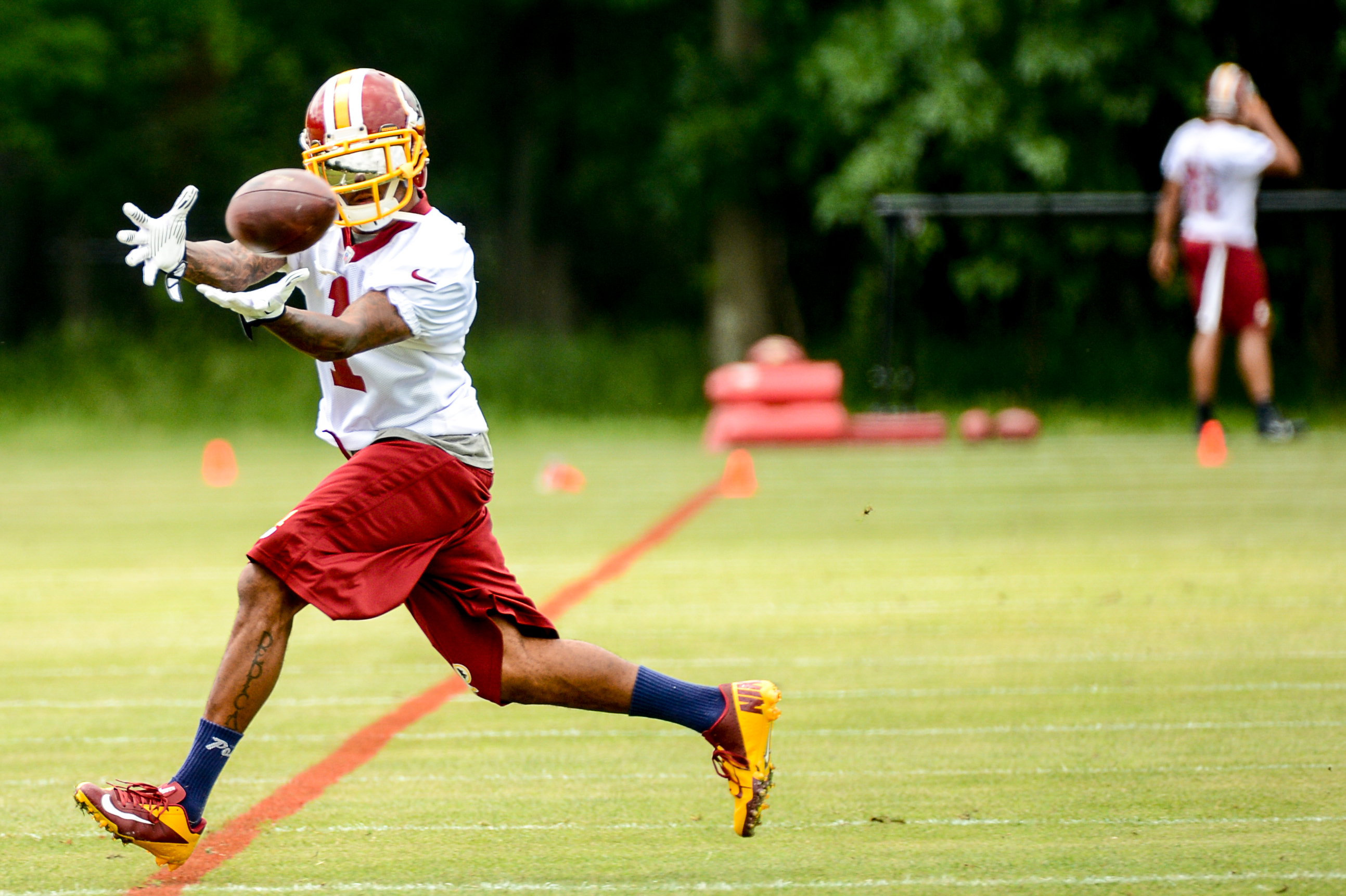 DeSean Jackson back in action at Redskins practice - Washington Times adbd1a82594
