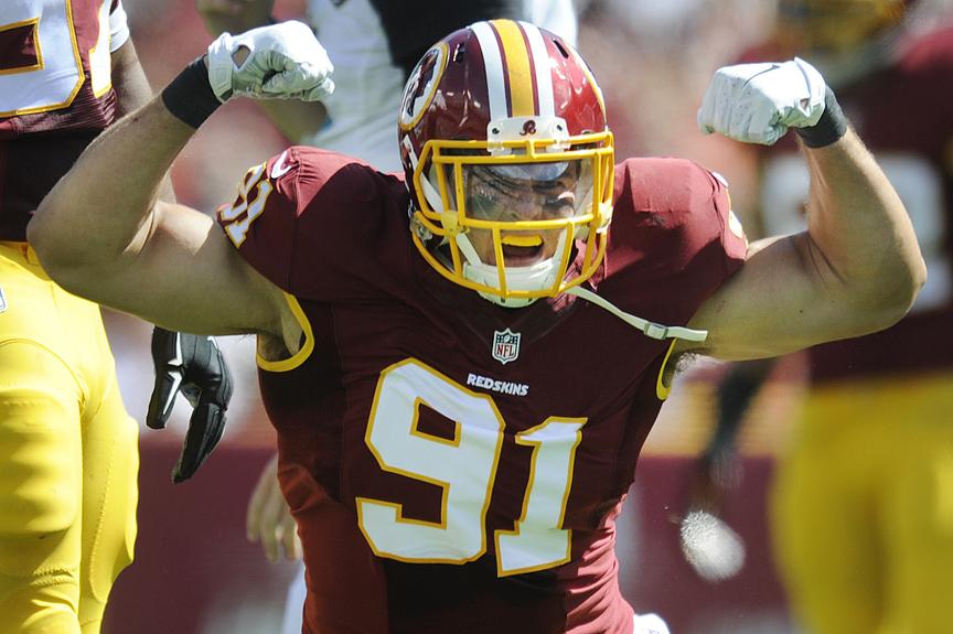 ' Redskins Next For 'who's Defense Sack-happy Times - Washington