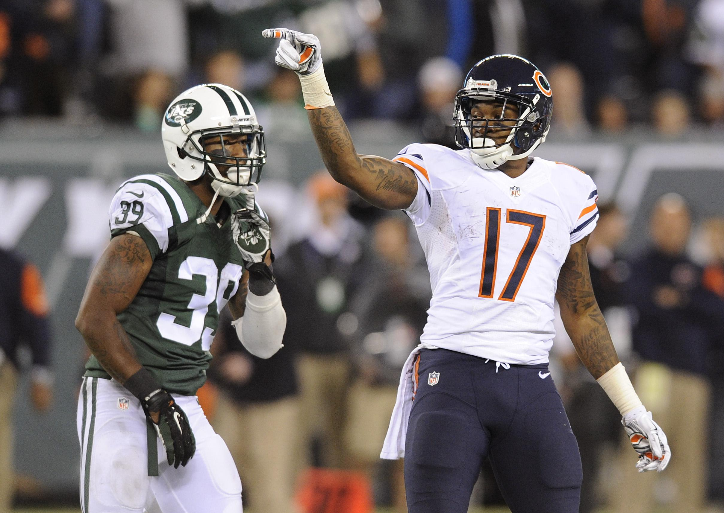 Four Wide Violation Suspended Chicago Games Ped Alshon Jeffery Bears - Times Washington For Receiver