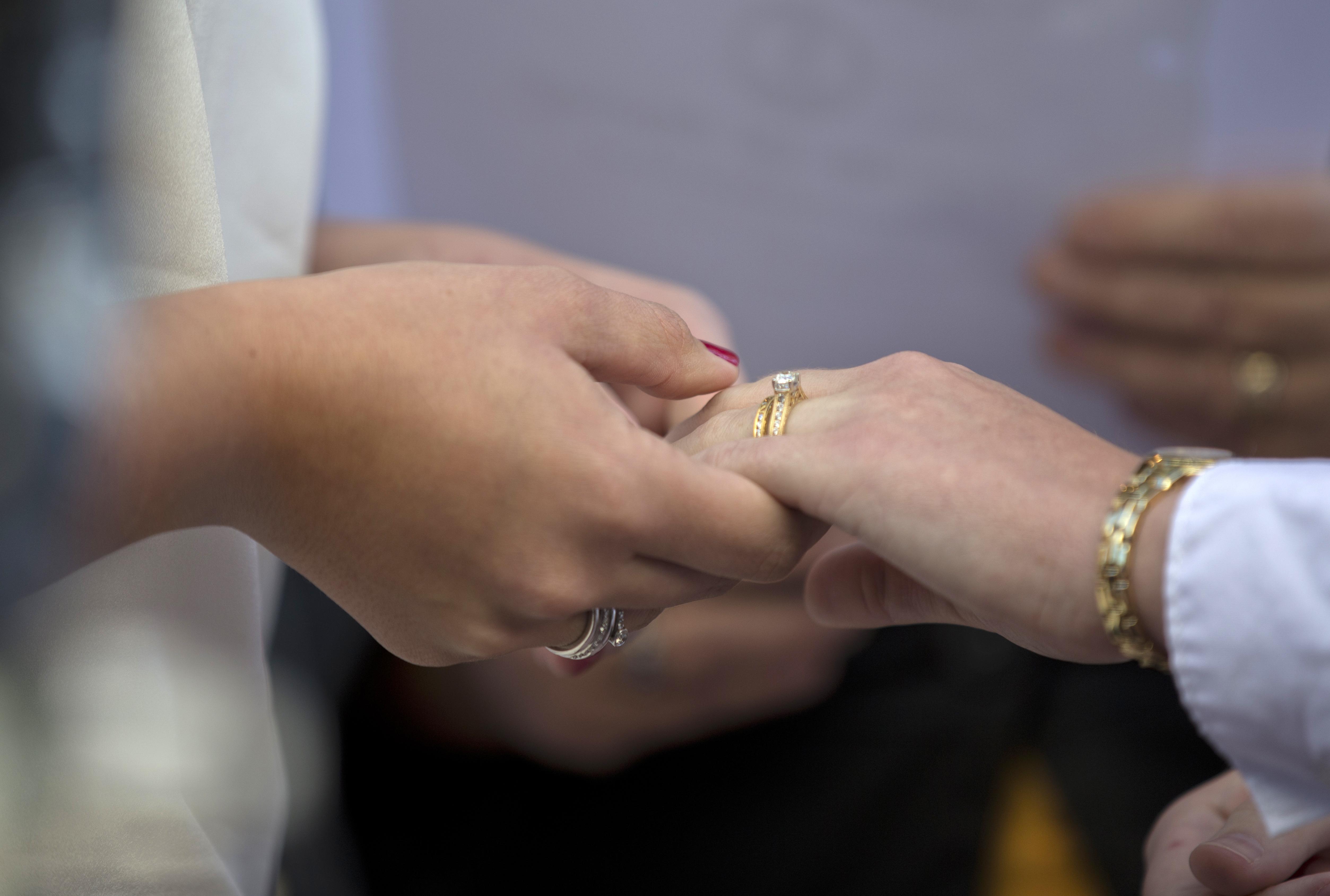Wedding Ring Hand Usa 86 Elegant
