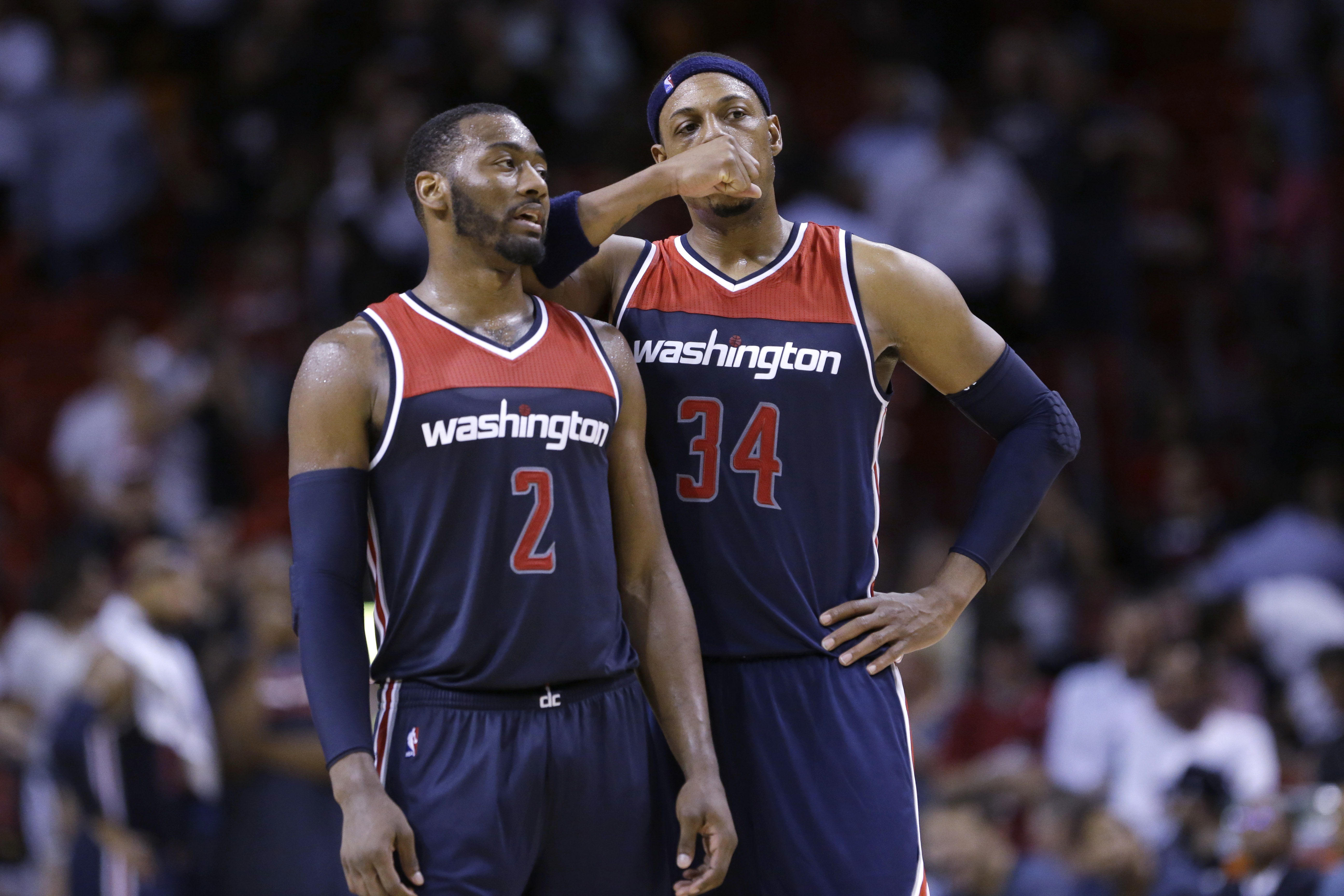 the latest de87a a881a Paul Pierce ejected from Wizards home opener - Washington Times