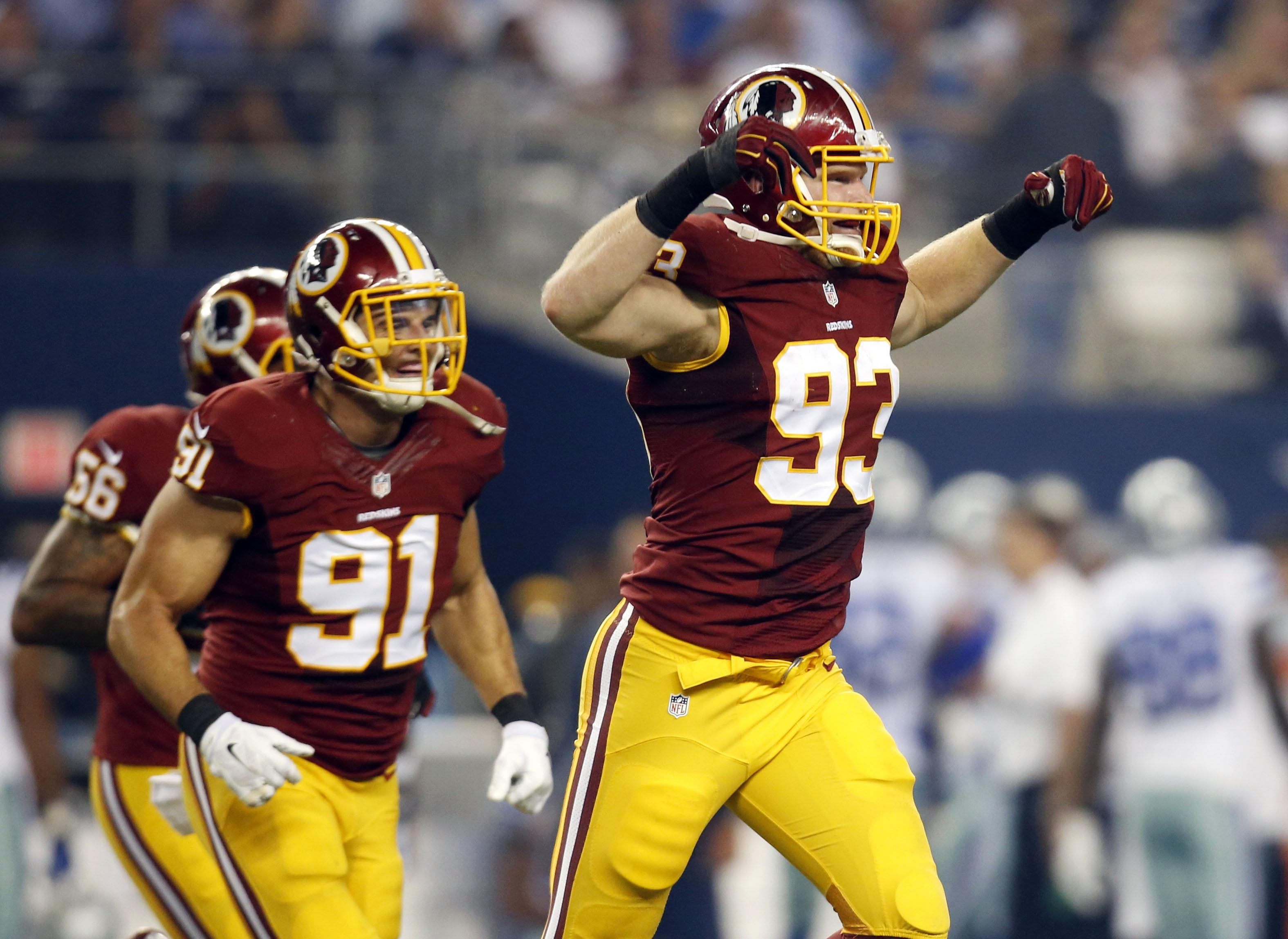 new styles 3b59f fc3a2 Trent Murphy, Niles Paul highlight Redskins exits in Day 3 ...