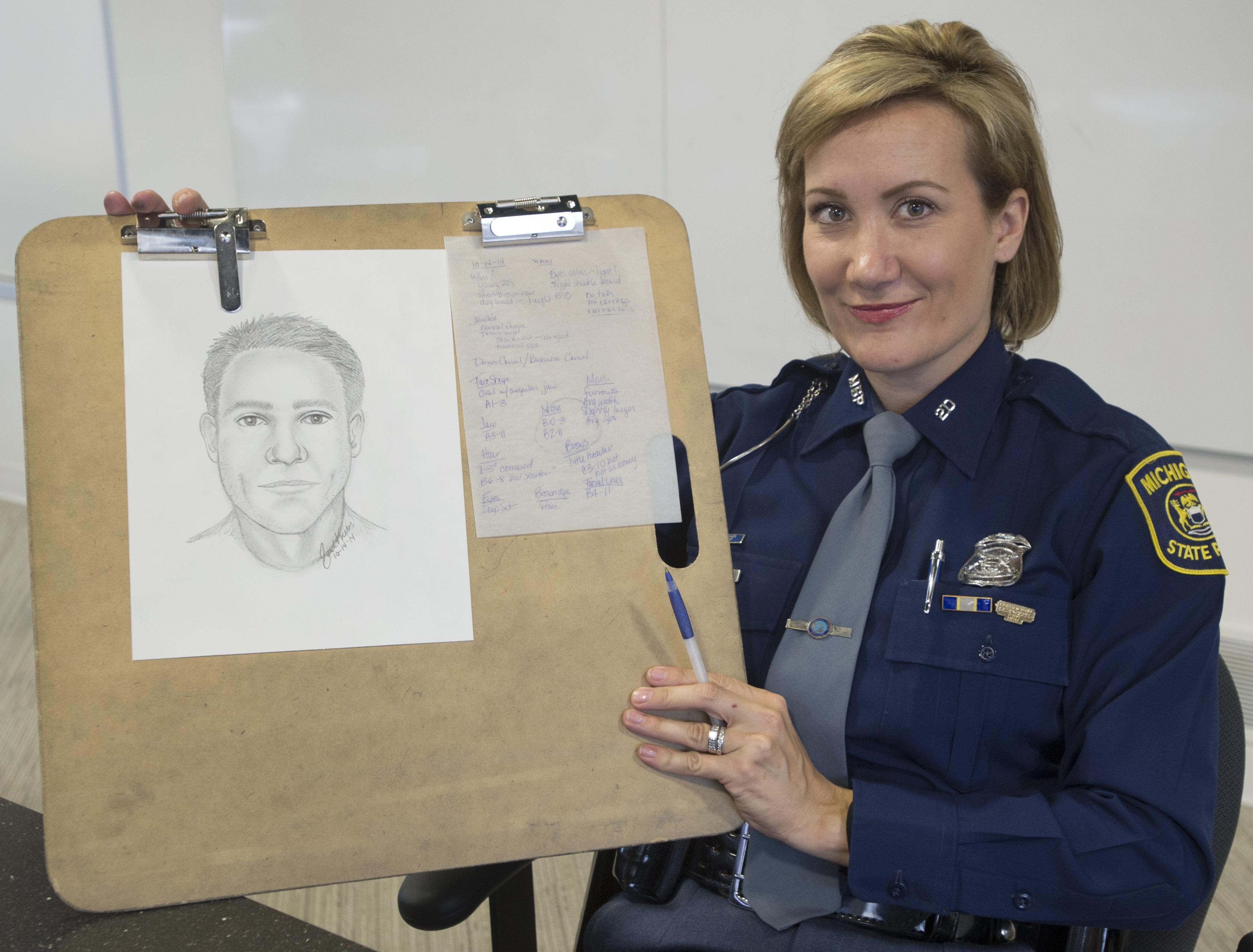 Saginaw Police use sketch artists to make arrests - Washington Times