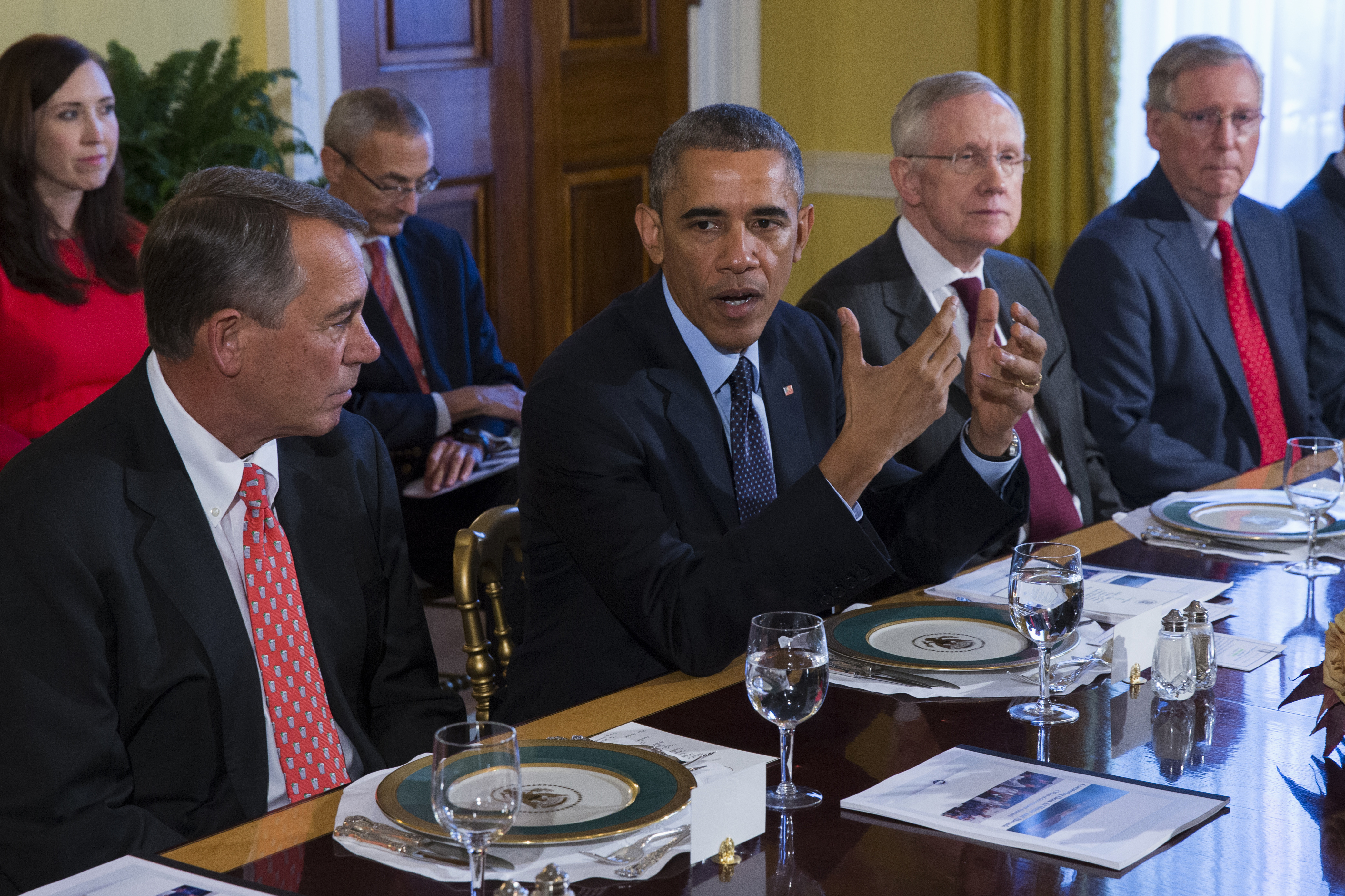 senate dining room. LAWRENCE J  FEDEWA So what happens now after Obama s immigration action Washington Times