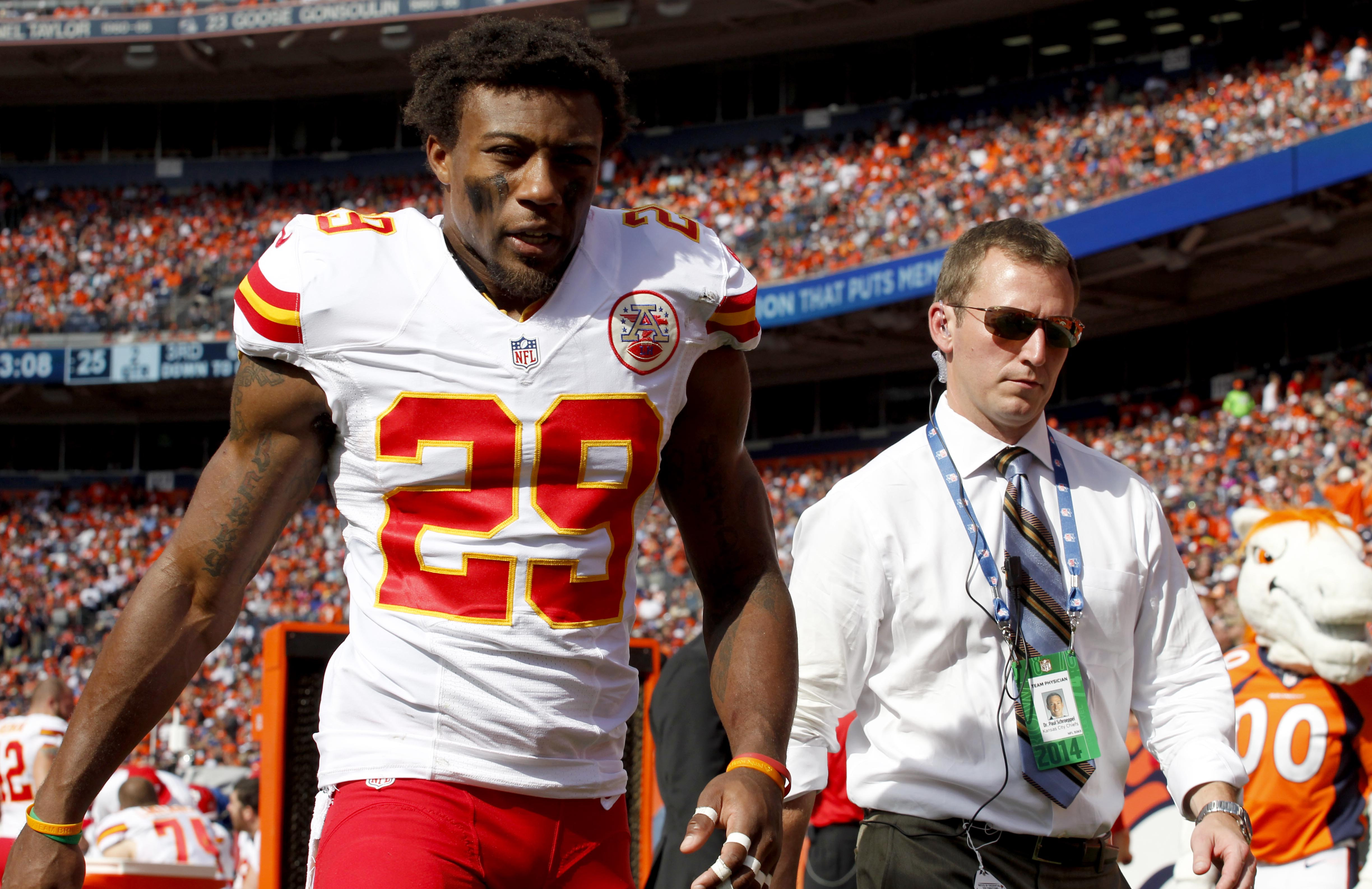 Eric Berry of Chiefs has mass in chest could be lymphoma