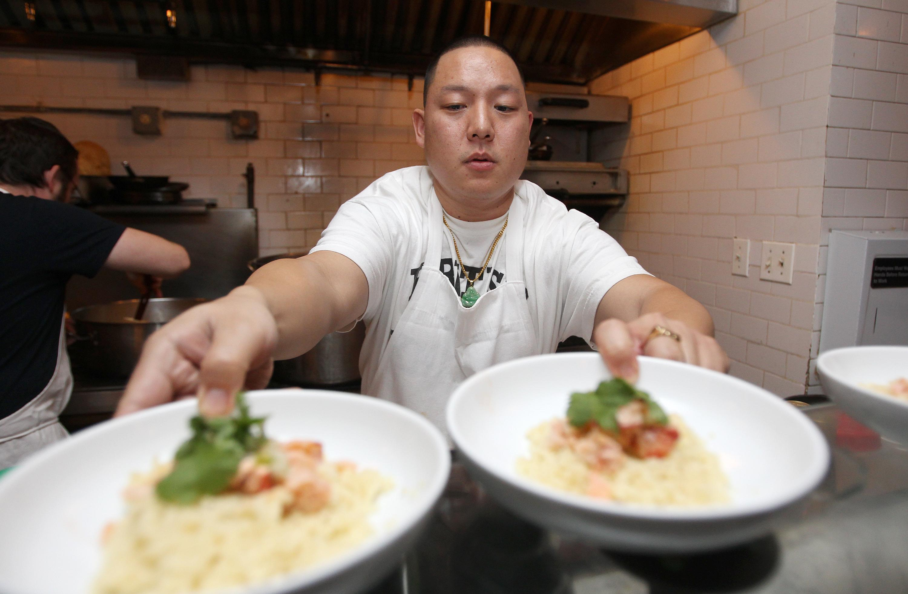 Eddie Huang, famed restaurateur, goes vegan over Amazon fires