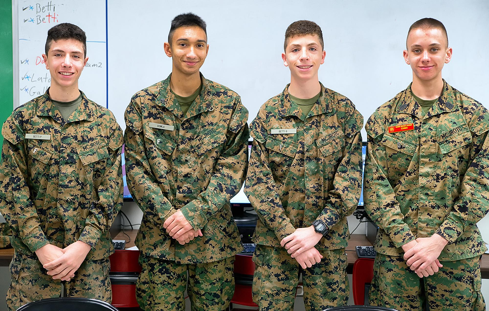Marine Military Academy Cadets Compete As Cyberpatriots Washington