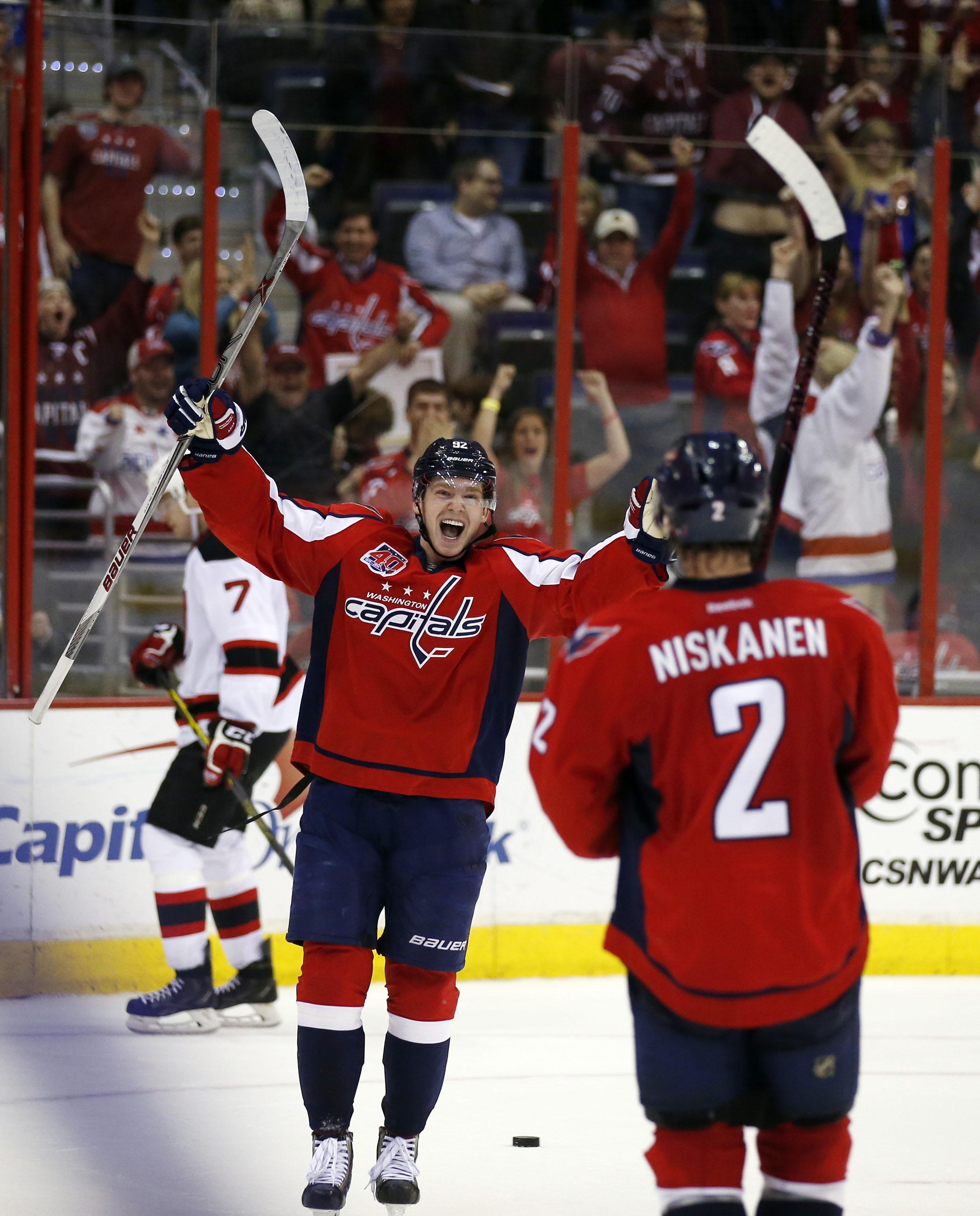 Matt Niskanen s overtime goal leads Capitals to crucial victory over Devils  - Washington Times 4e47f8e1668