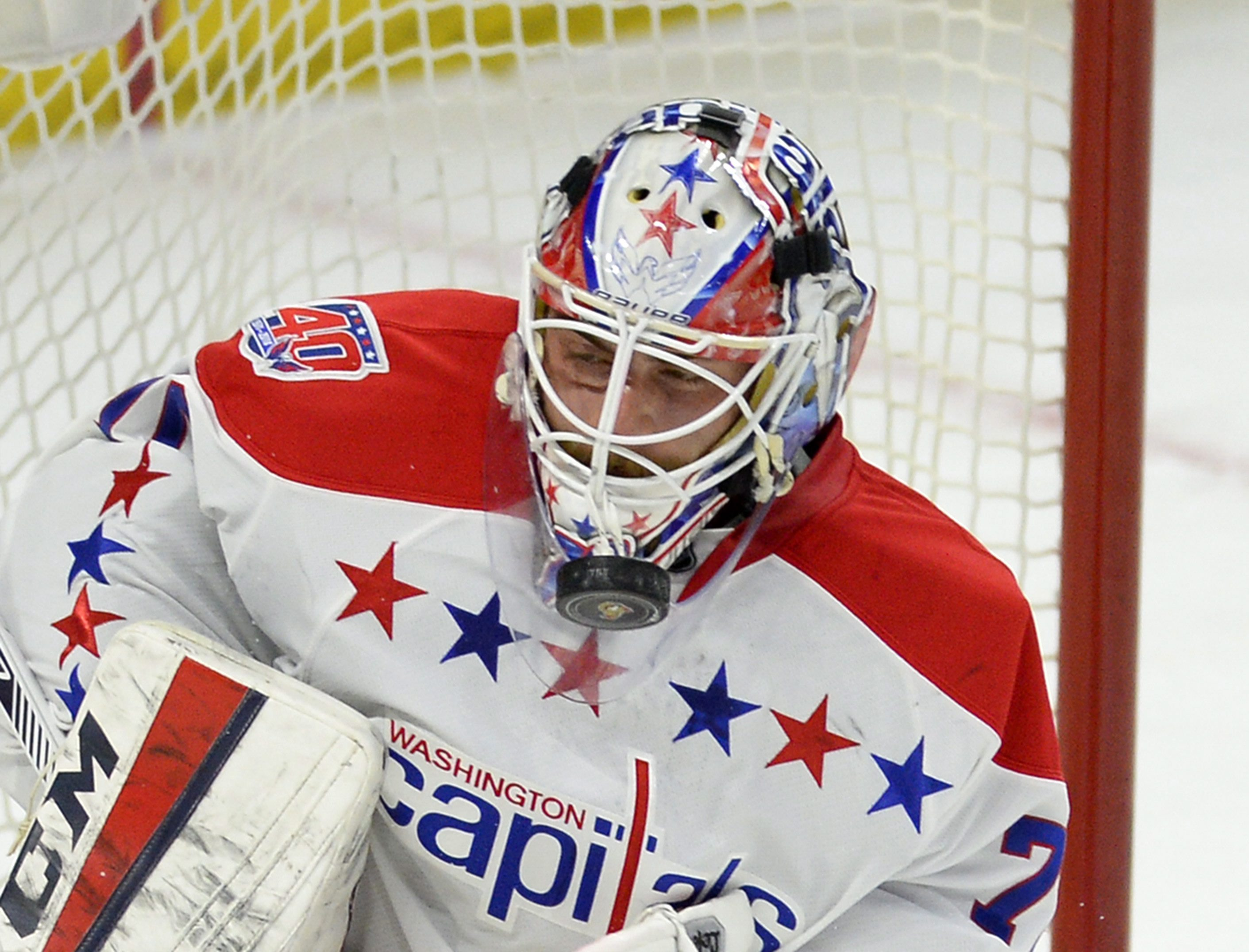 Braden Holtby Looking To Move Past Record Setting Season Leave Mark On Playoffs Washington Times