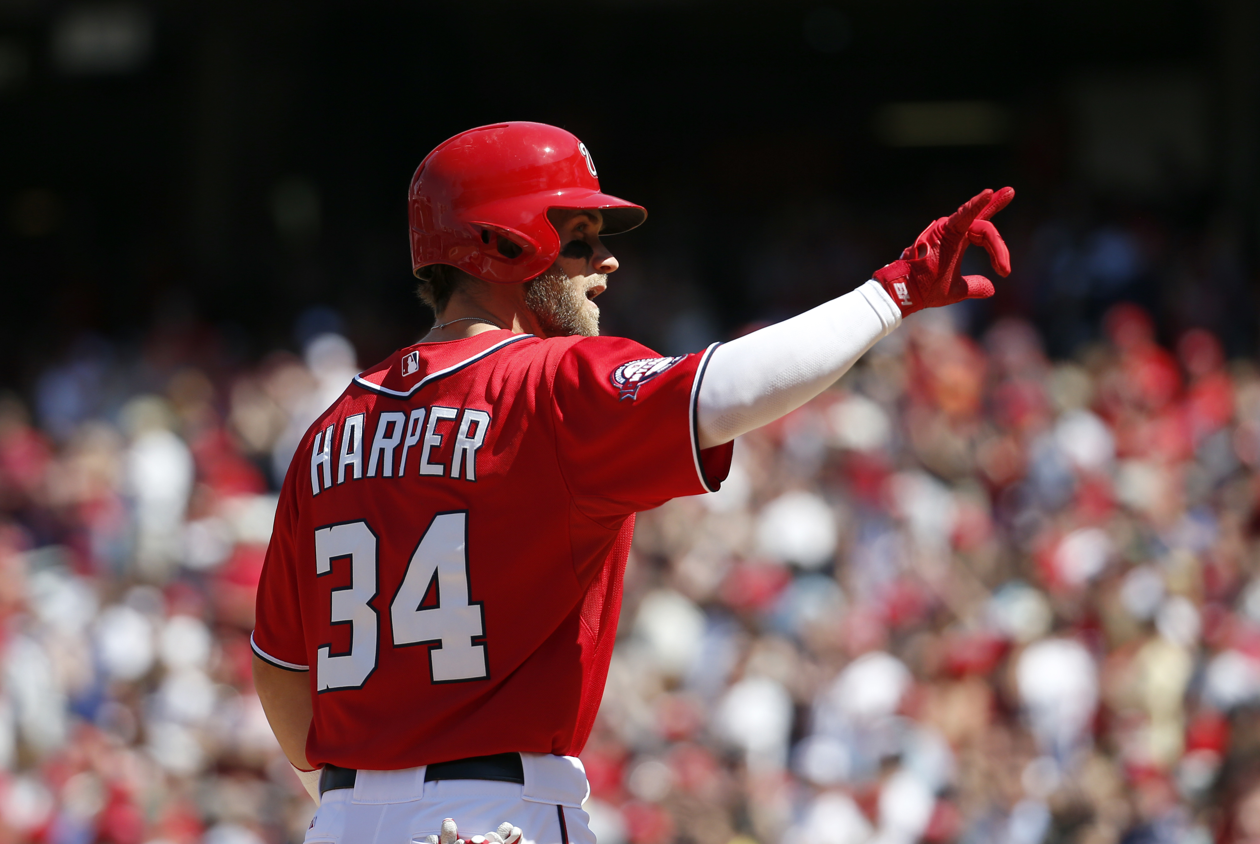 Bryce Harpers Frequent Walks Indicative Of Comfort At The Plate With Nationals