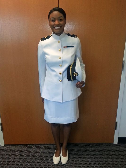 The Navys New Female Uniforms Draw Fire At The Academy Why Are