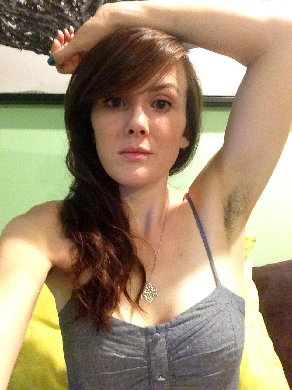 shorn or hairy: female underarms having a mainstream moment