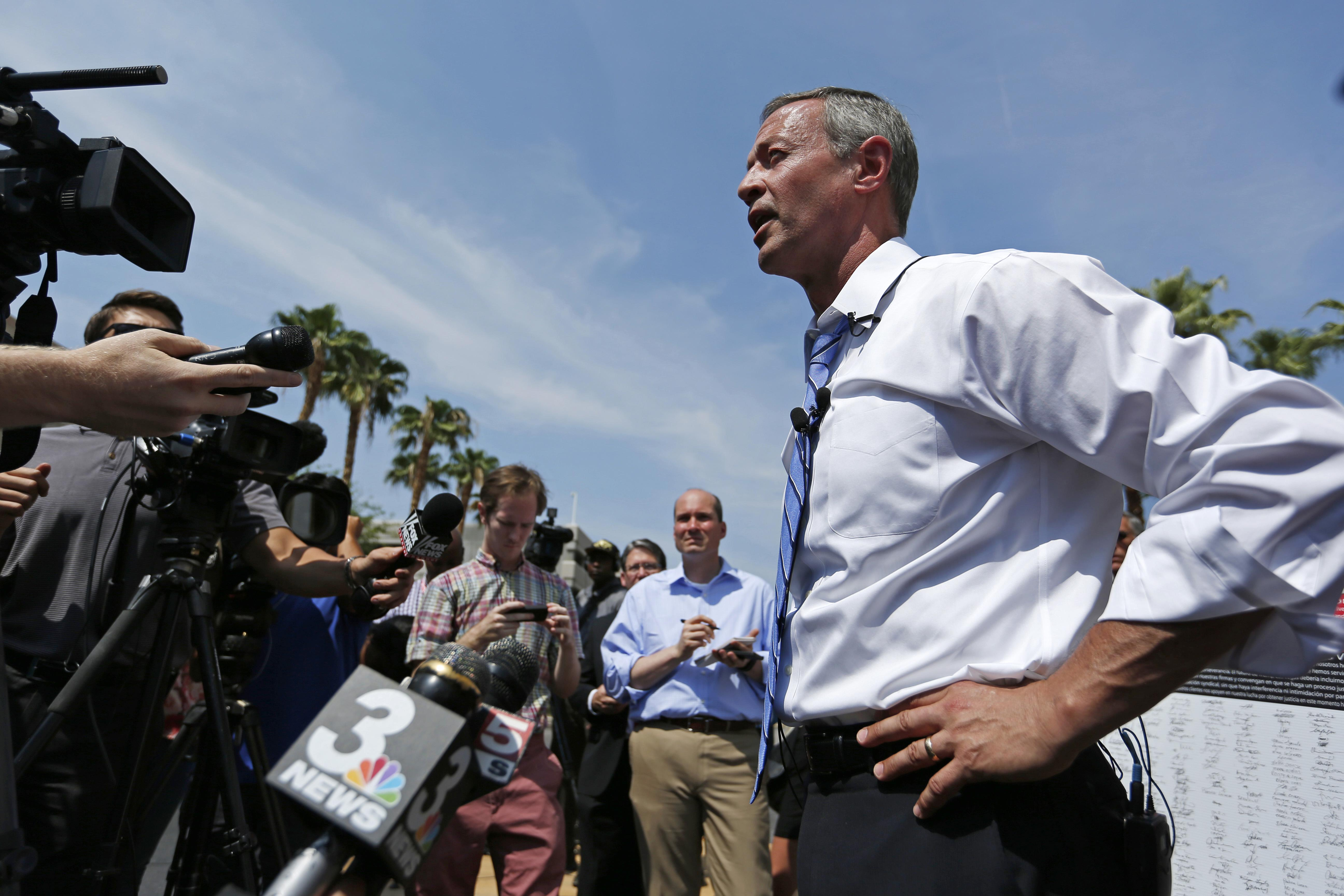Martin O'Malley: A ball of crazy fit for a Democratic Party
