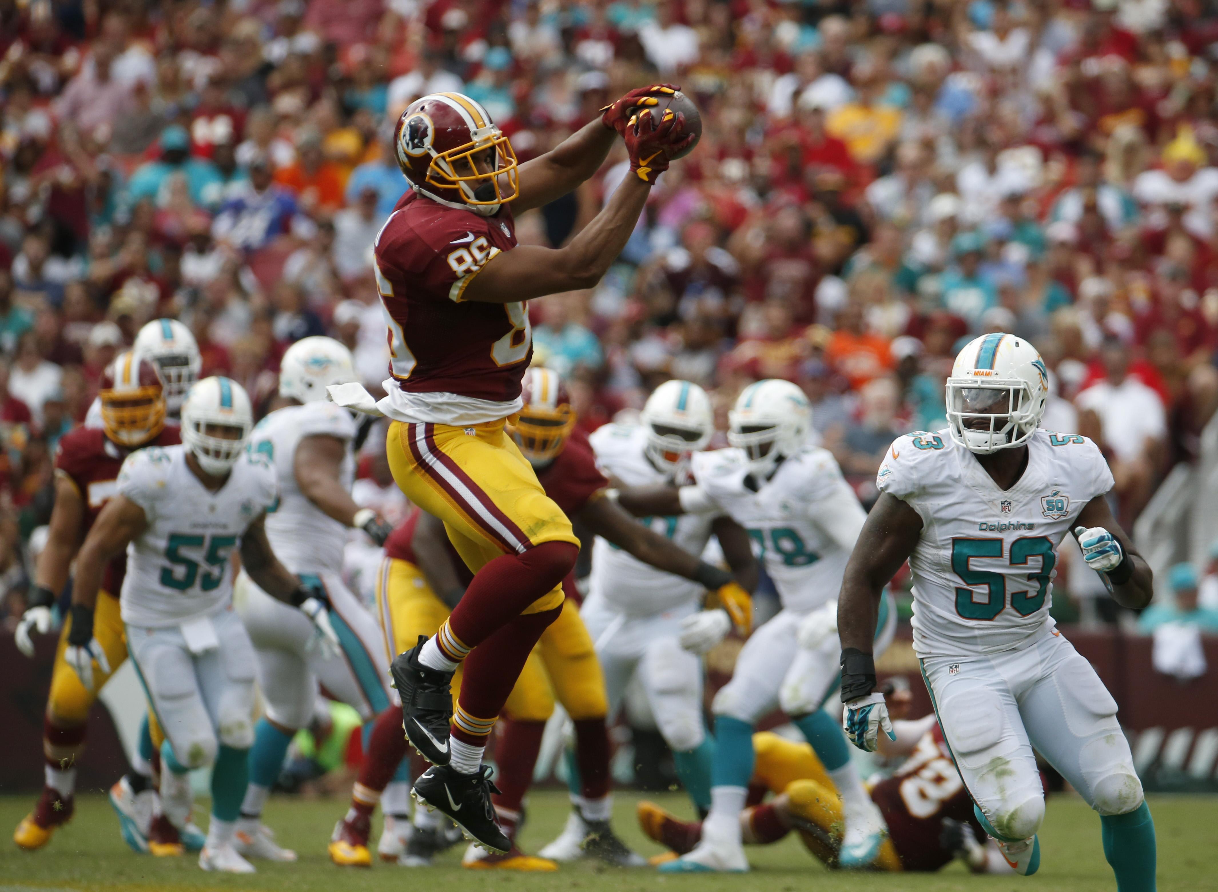 Jordan Reed added to Redskins injury report after tweak to