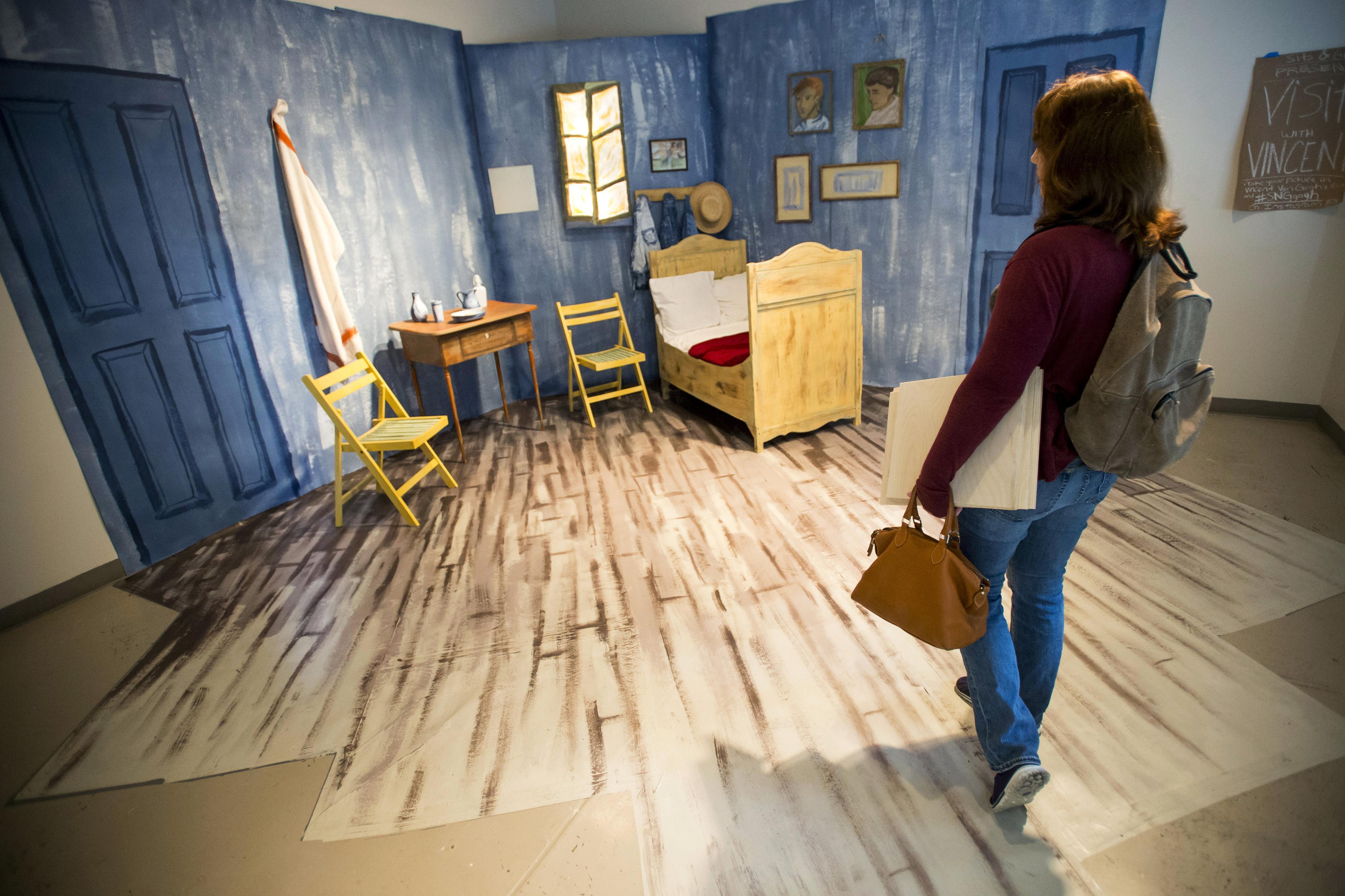 UNL art students convert Vincent Van Gogh s  Bedroom    Washington Times. UNL art students convert Vincent Van Gogh s  Bedroom    Washington