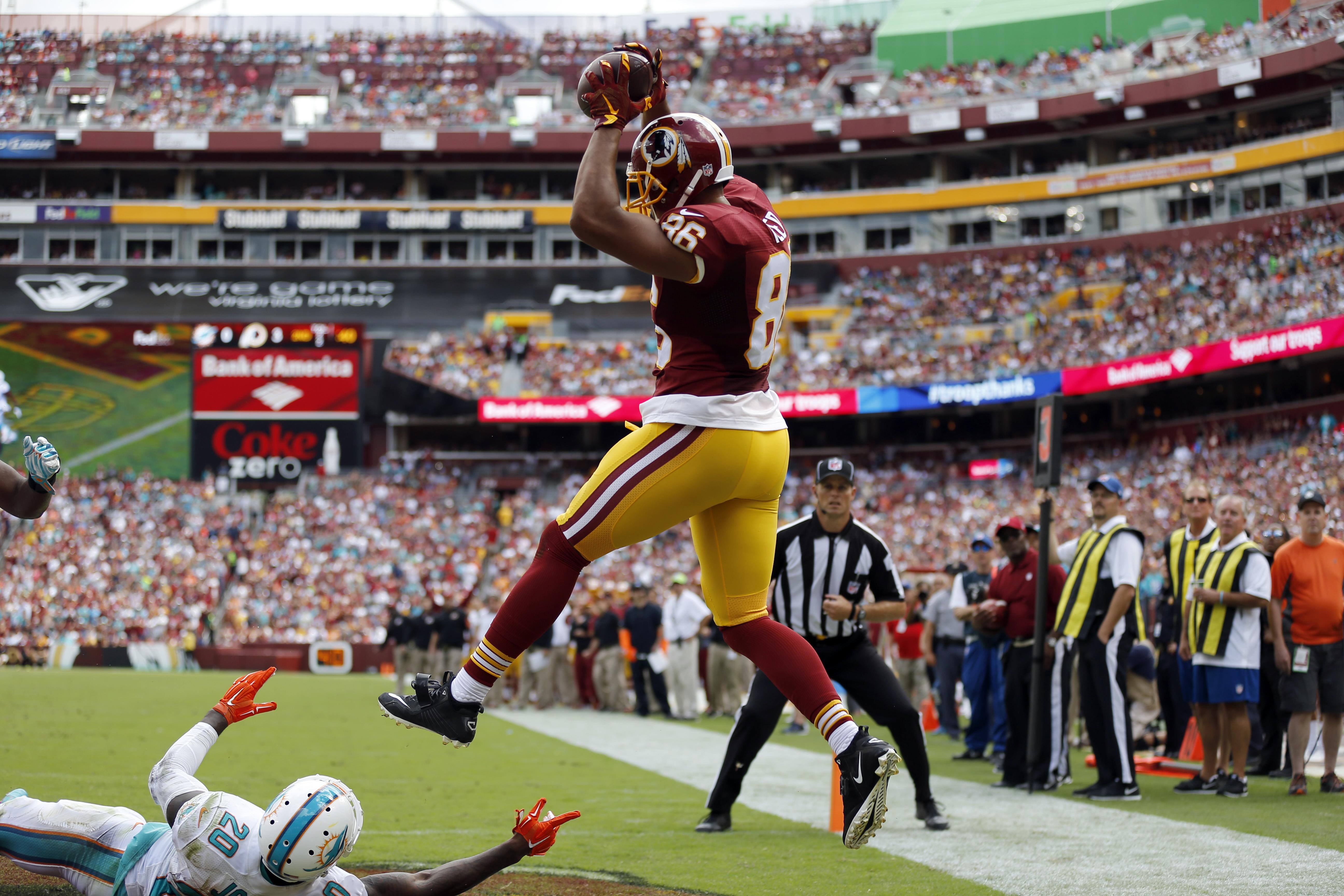 Redskins optimistic Jordan Reed Trent Williams will return vs