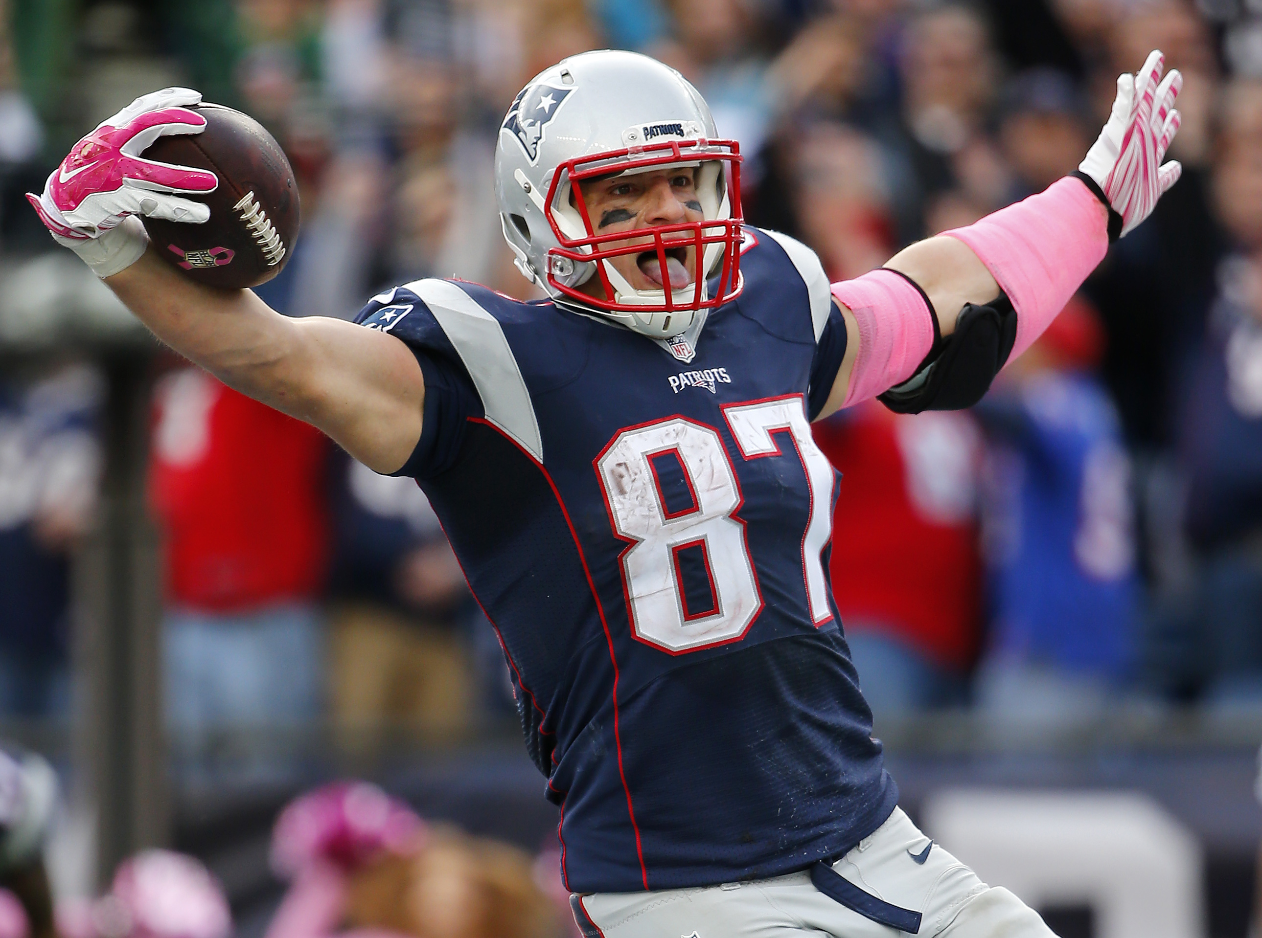 Rob Gronkowski Patriots tight end is a game time decision