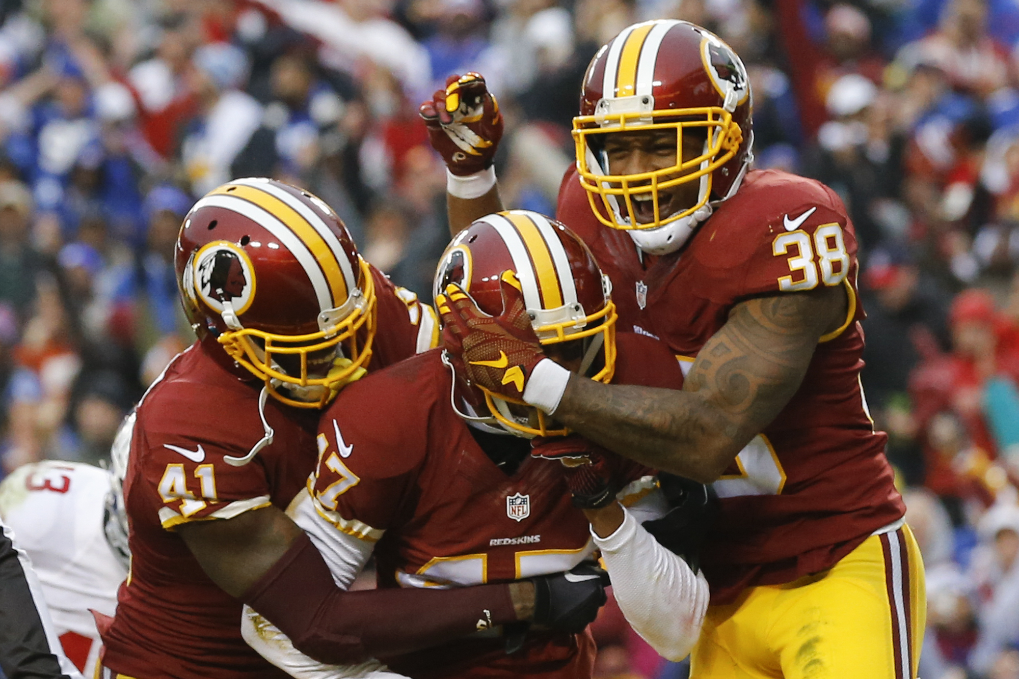 jersey sammy baugh redskins cornerback quinton dunbar picks up where chris culliver left off washington times