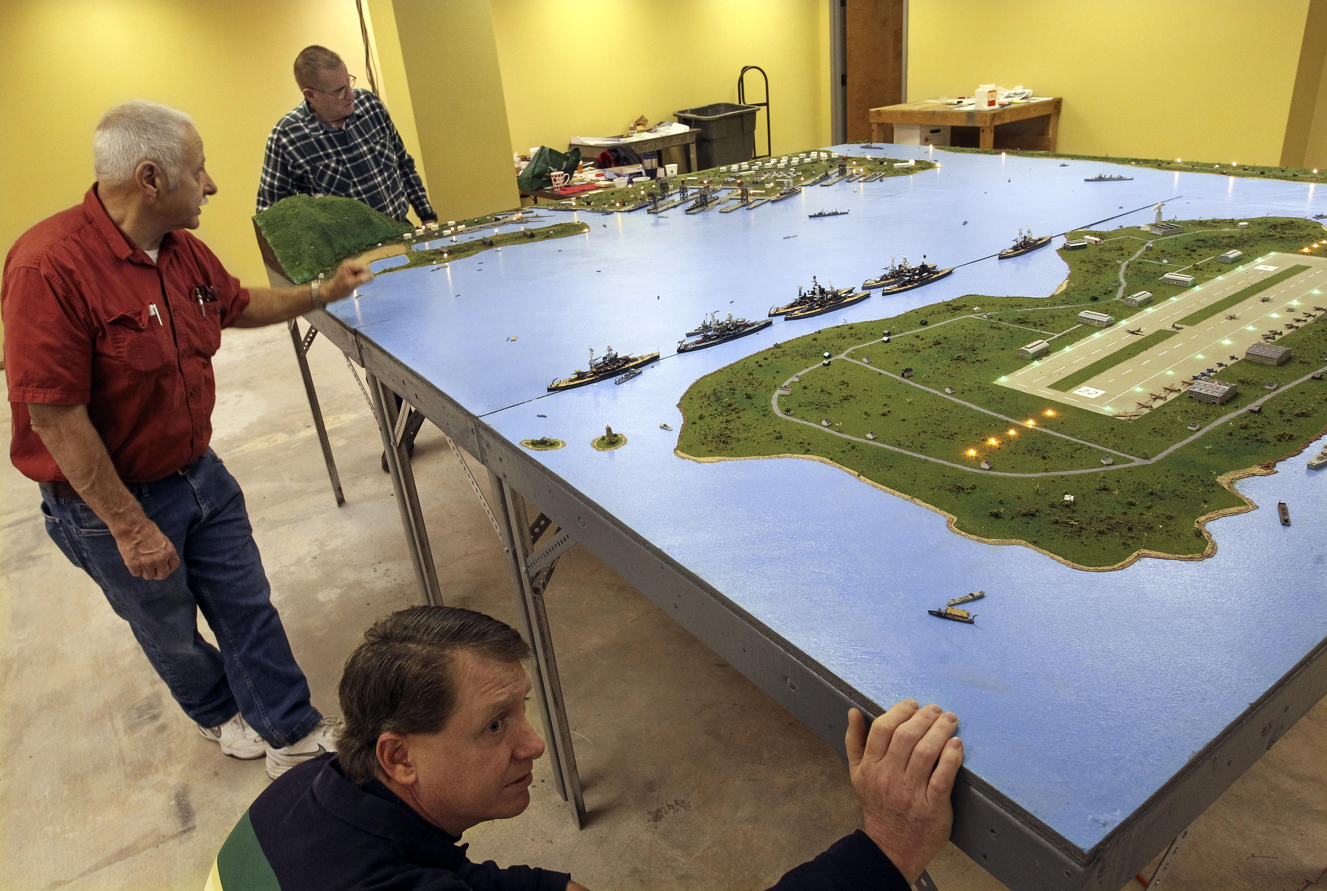 Diorama To Depict Pearl Harbor Before Attack Washington Times