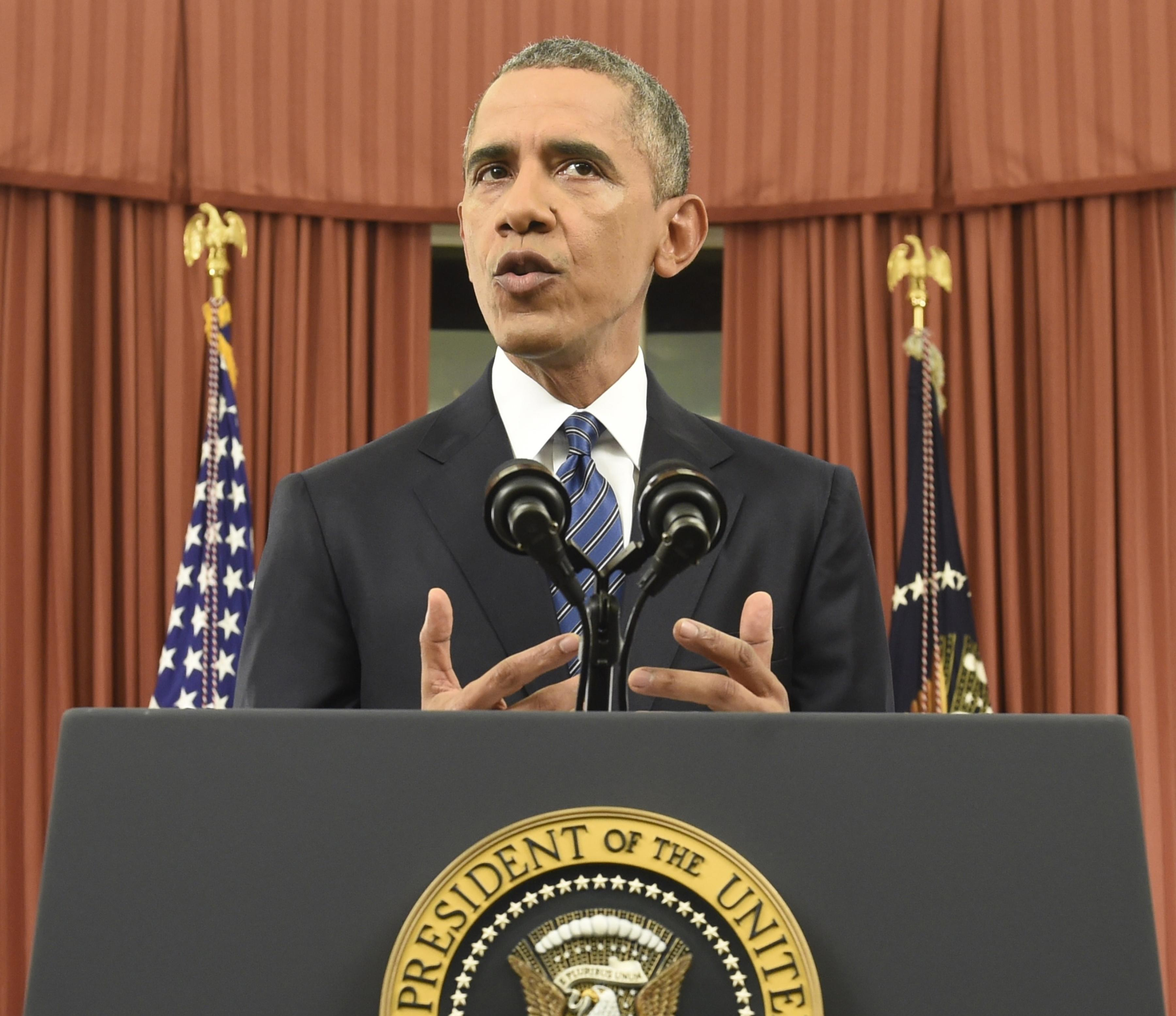Obama speech criticized as weak; terrorism war strategy changes ...