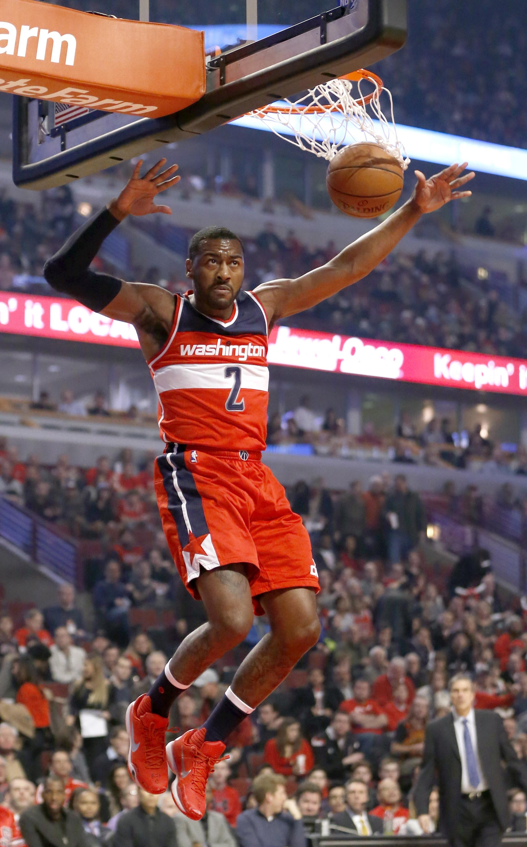 John Wall Helps Banged Up Wizards Cruise Past Bulls