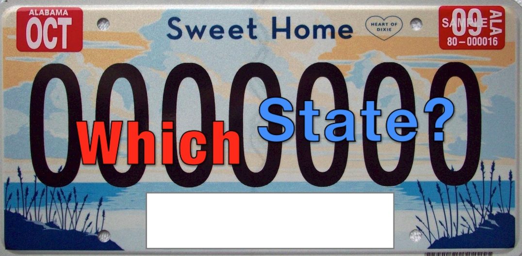 Quiz: Let's Play the License Plate Game! - Washington Times