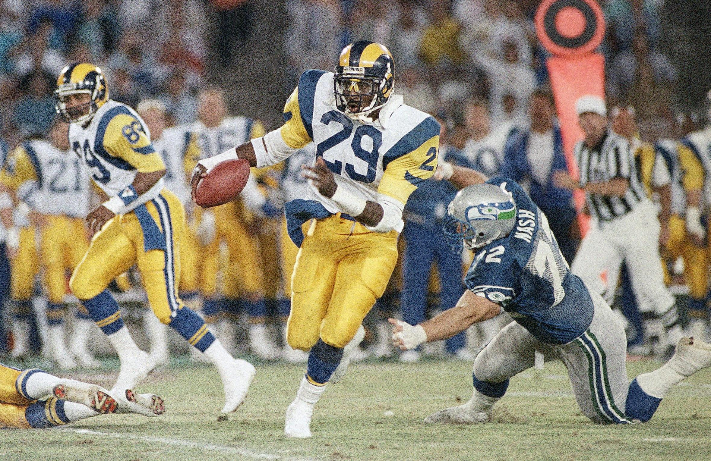 a848628ff Dickerson, Everett see stars lining up for Rams in LA return - Washington  Times
