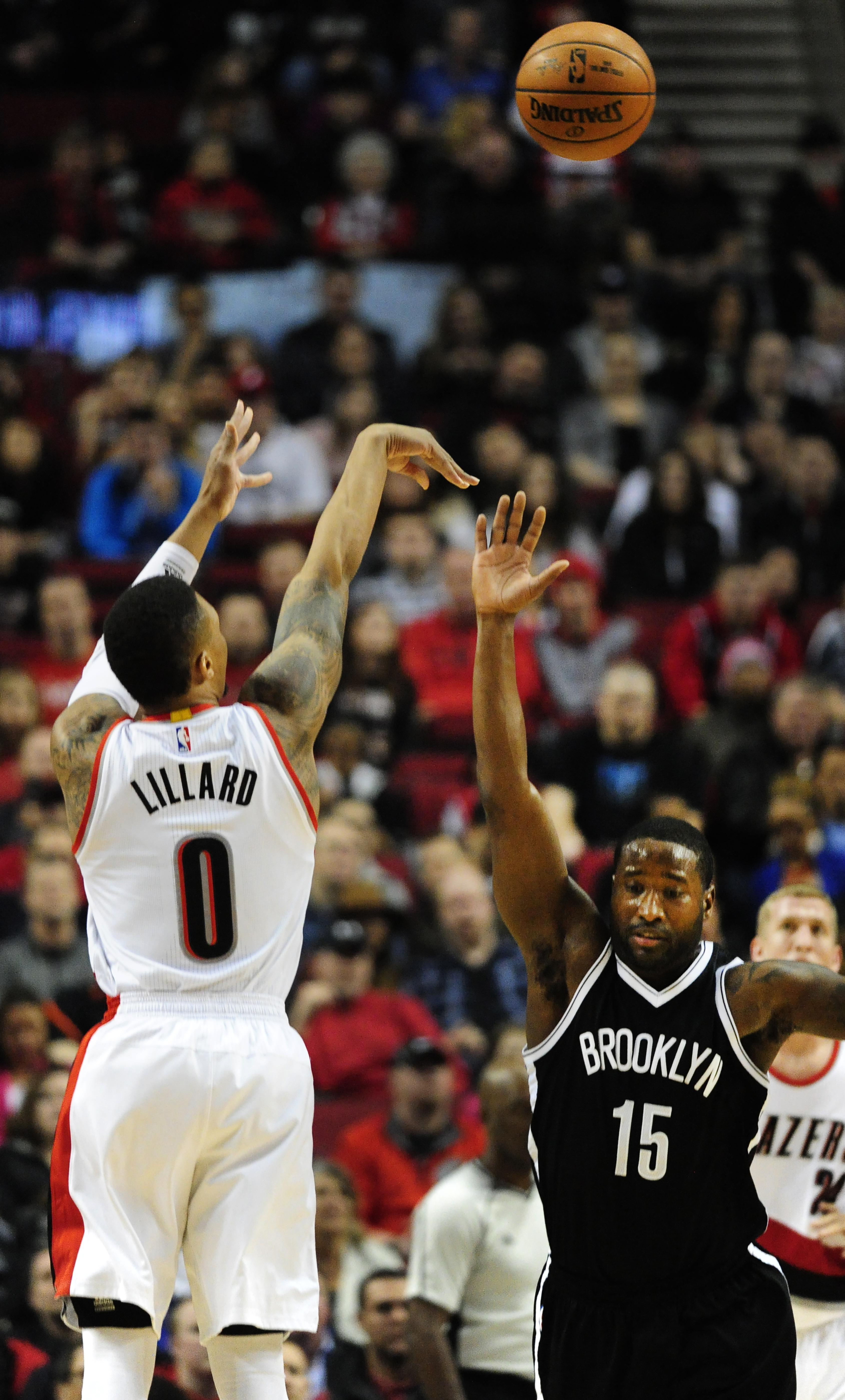 Portland beats Brooklyn 112 104 for 6th straight win Washington