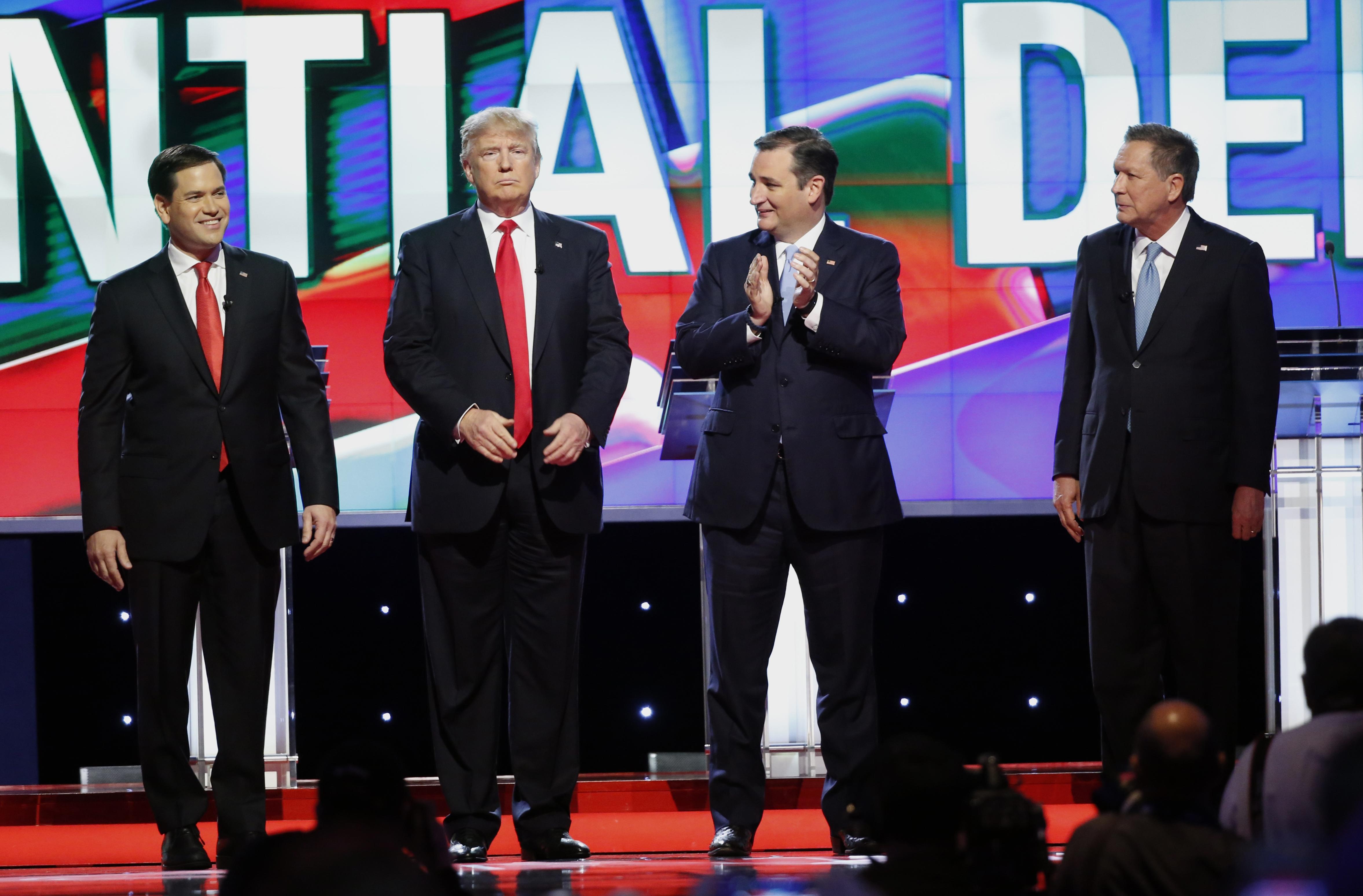 Republican debate winners and losers