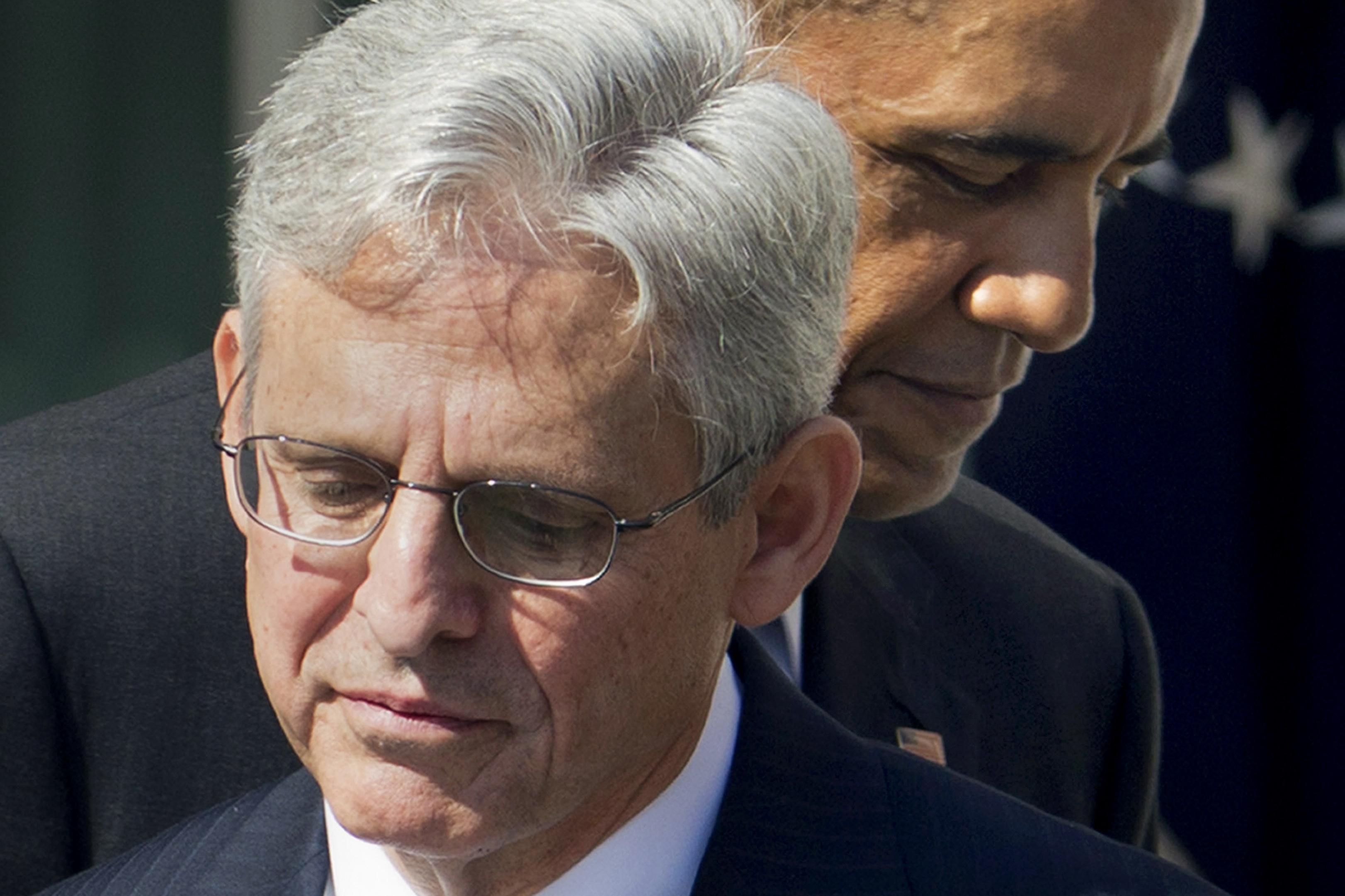 Obama Admin Waves White Flag On Trade Deal Merrick Garland Supreme
