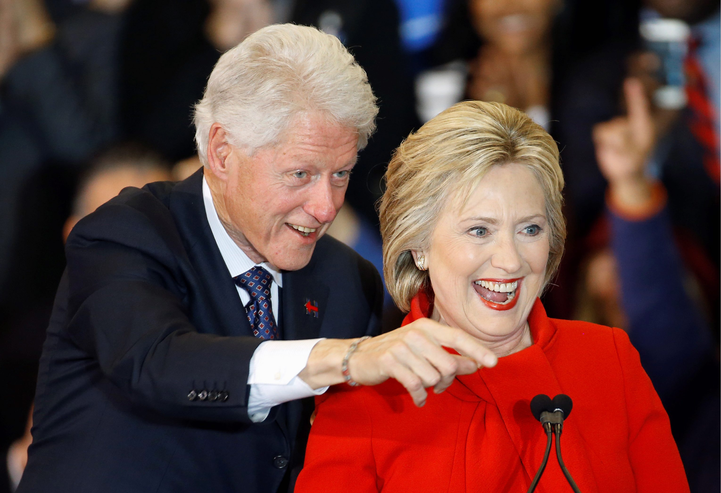 Image result for bill hillary clinton 2016