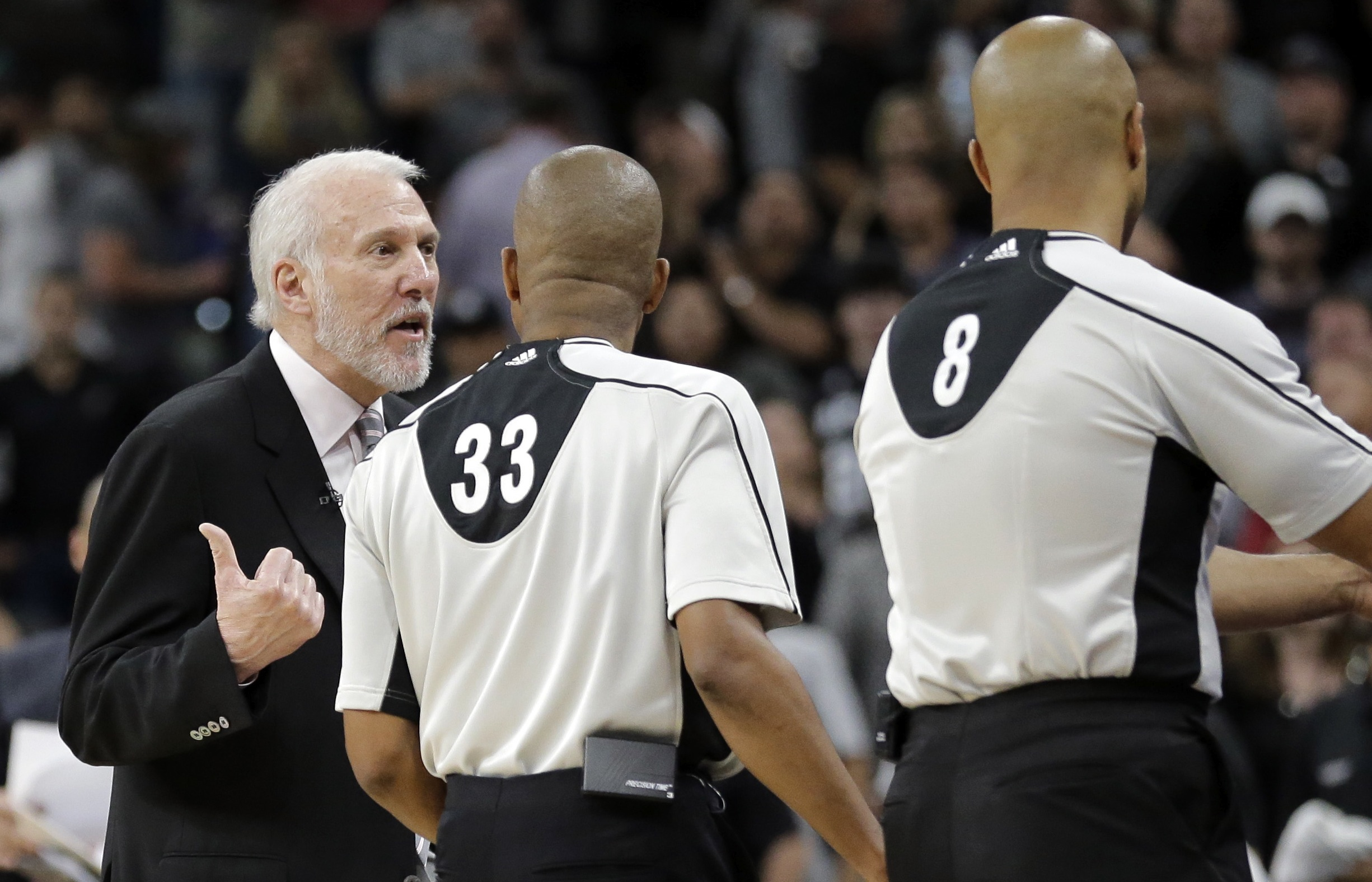 SNYDER Late game reports only undercut NBA officials difficult
