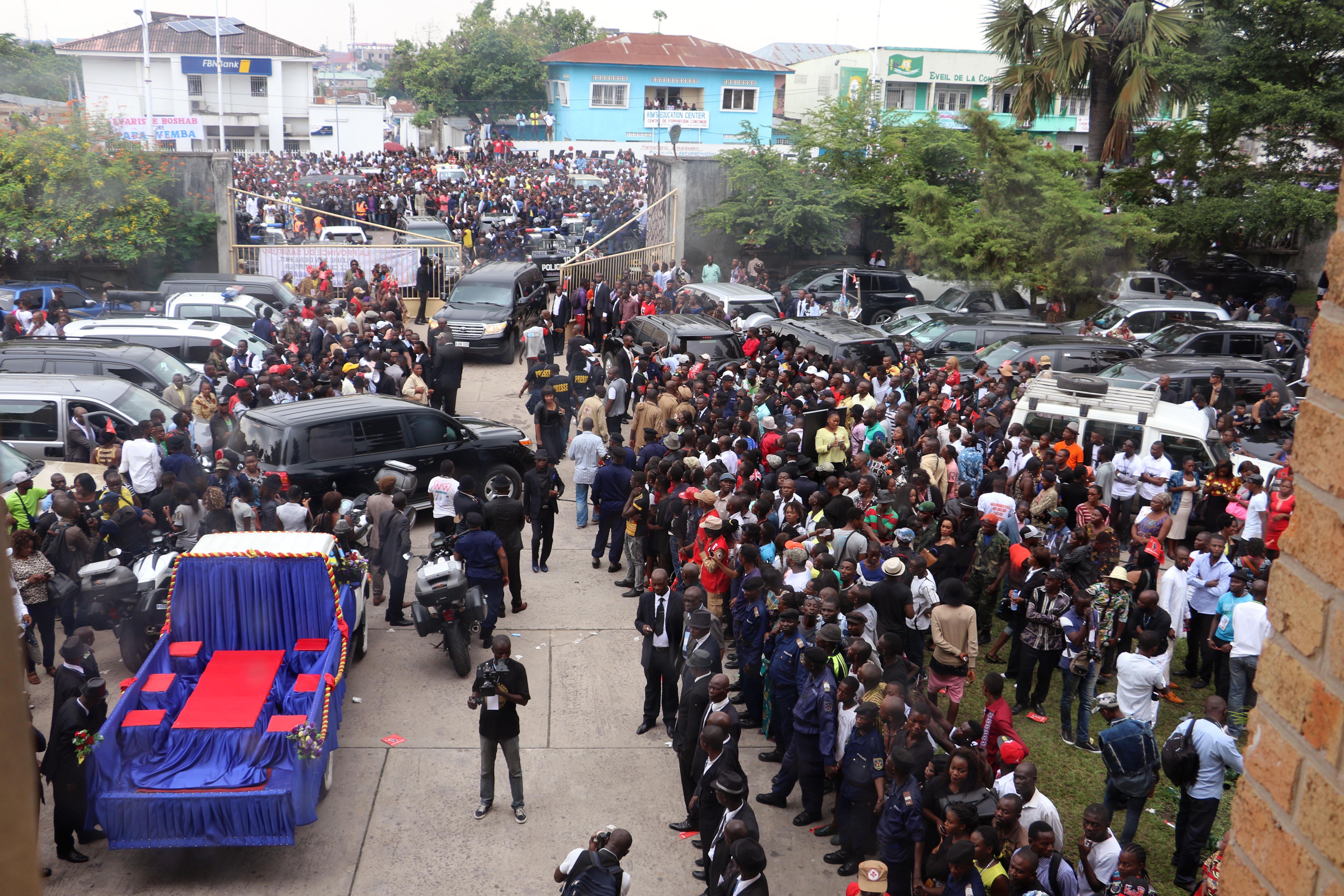 Congo buries its king of rumba, world music star Papa Wemba