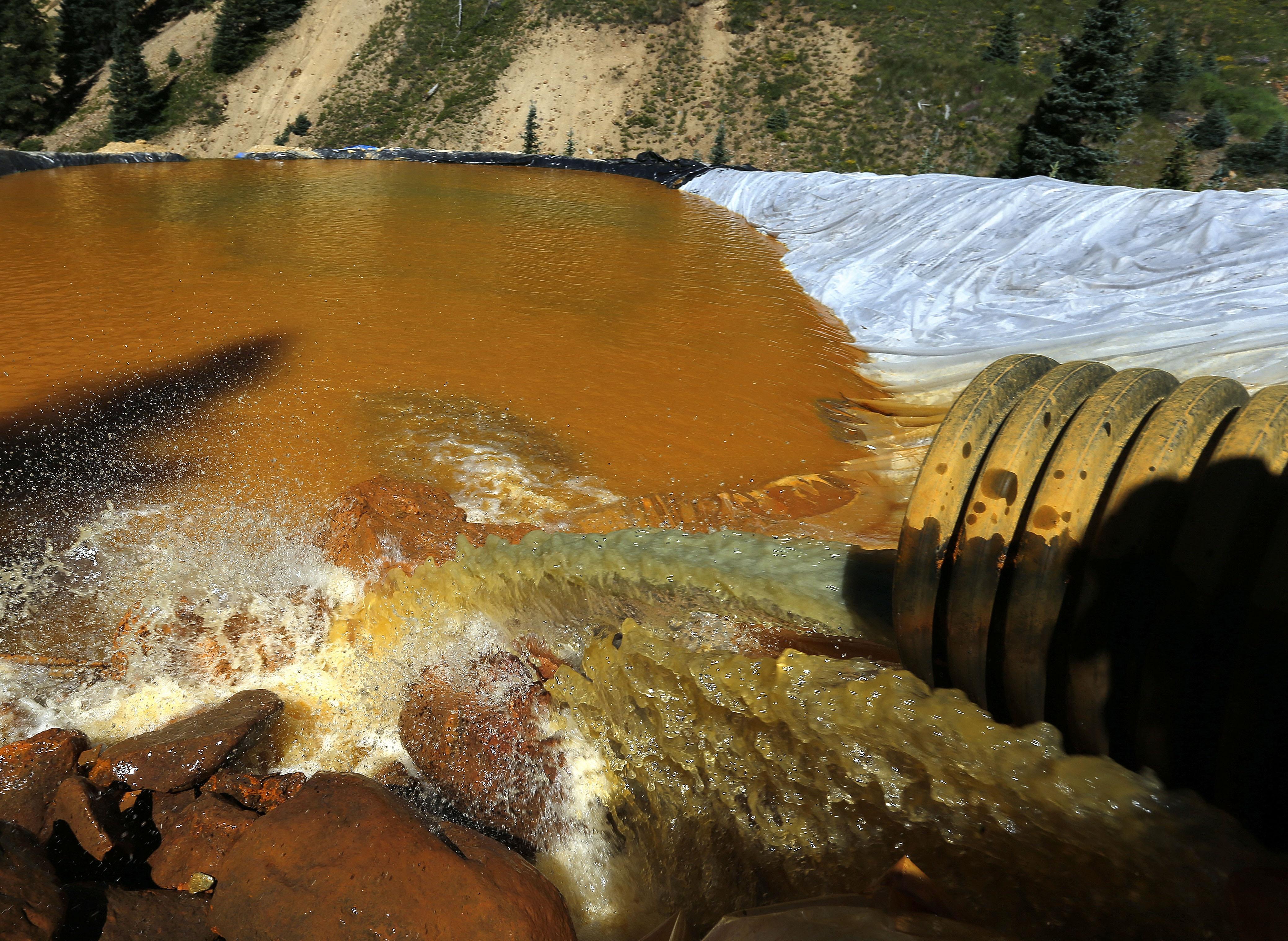 Work Crews Returning To Site Of Massive Colorado Mine Spill