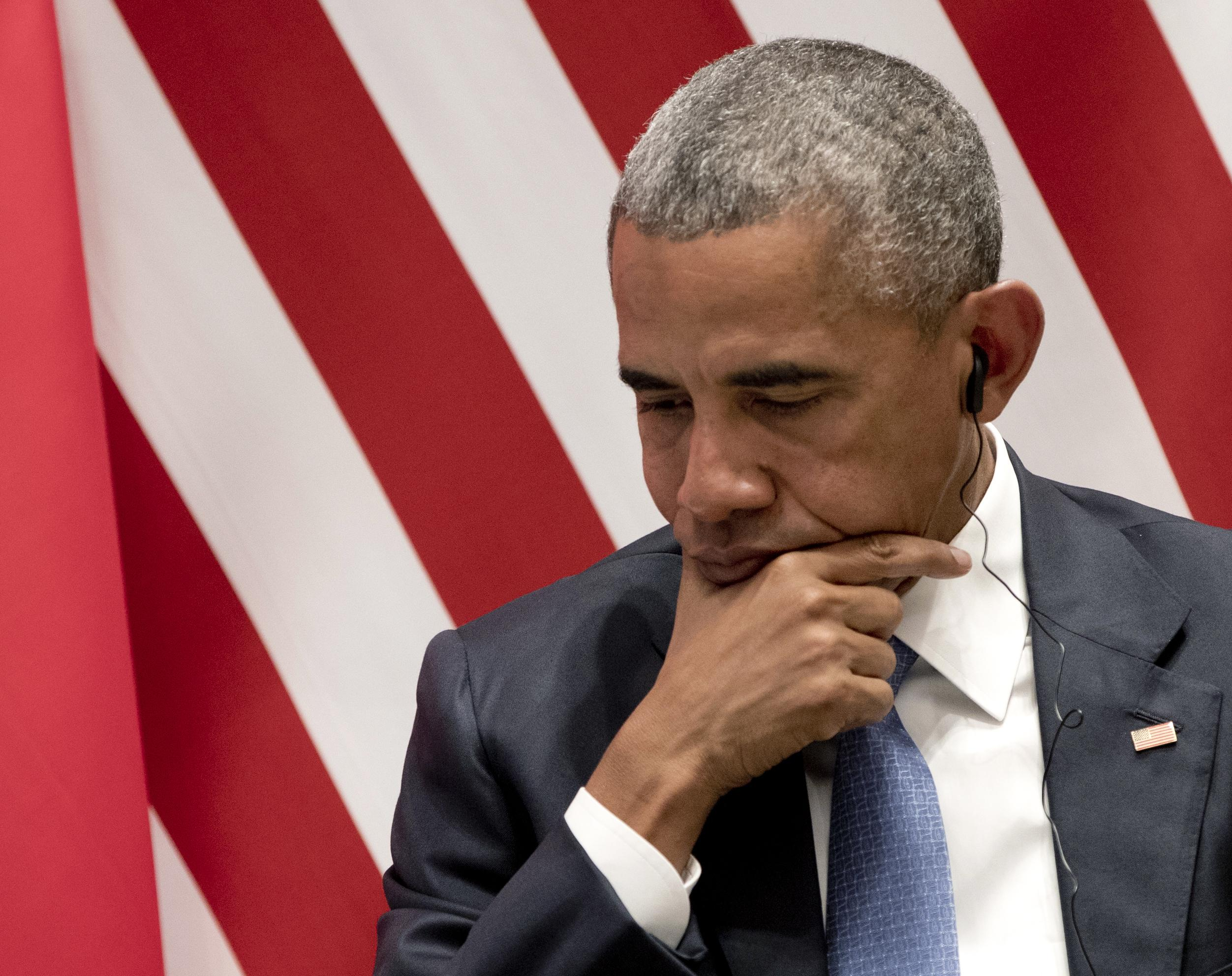 The Latest: Obama meets with Laotian president - Washington Times