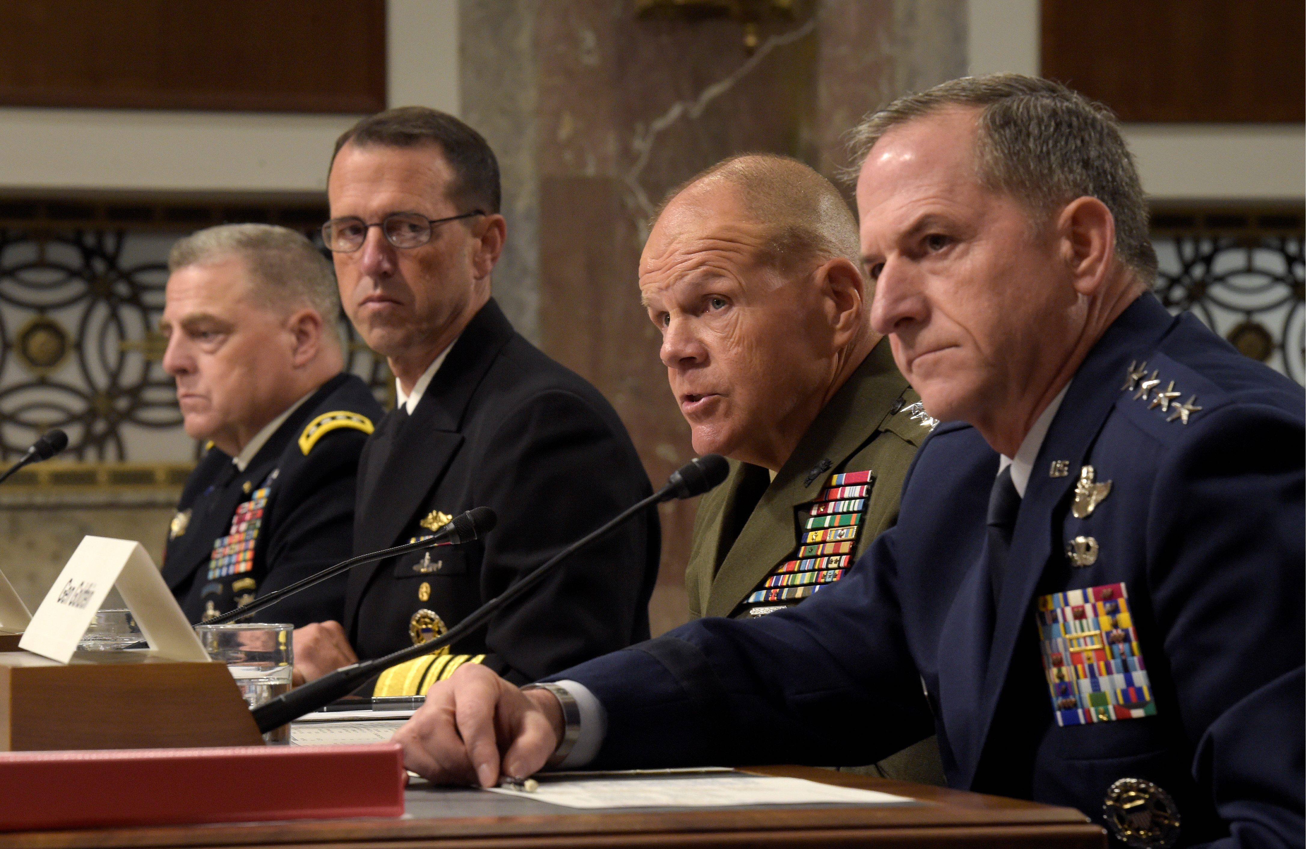 Obama wary of generals, admirals commanding in war - Washington Times