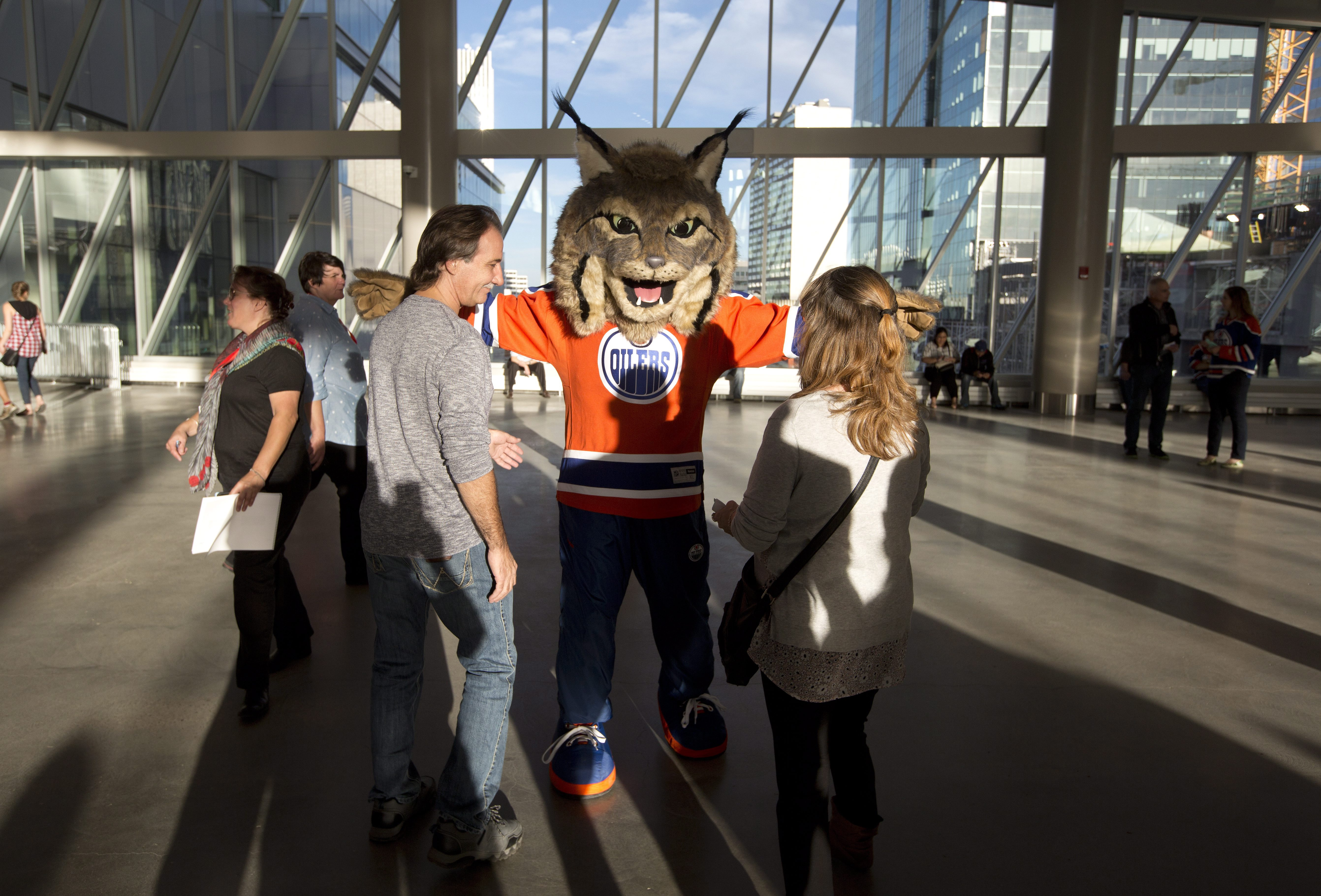 Edmonton Oilers Unveil First Ever Mascot And It S A Bit Terrifying Washington Times
