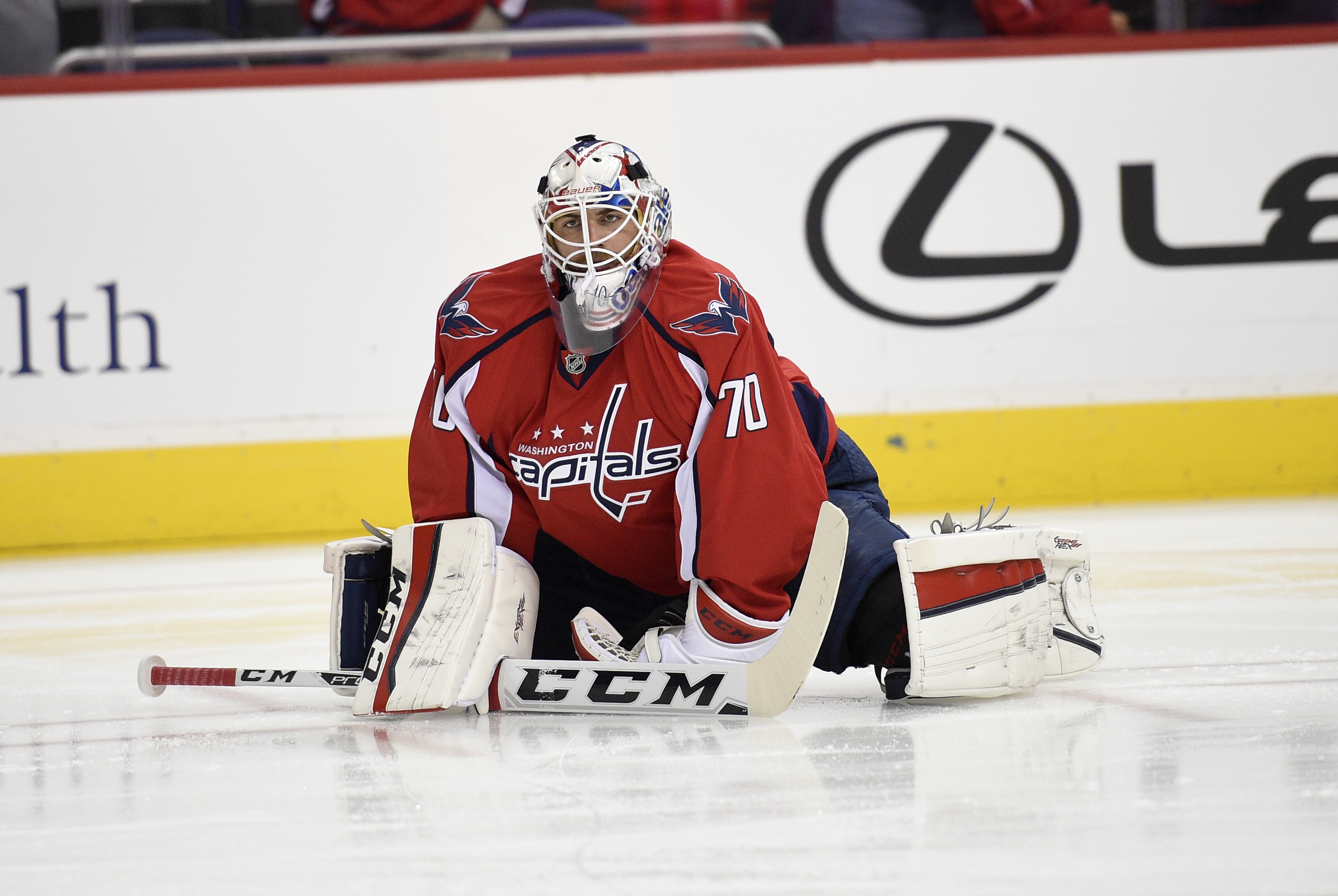 Braden Holtby Washington Capitals Goaltender Named Third Star Of The Week Washington Times