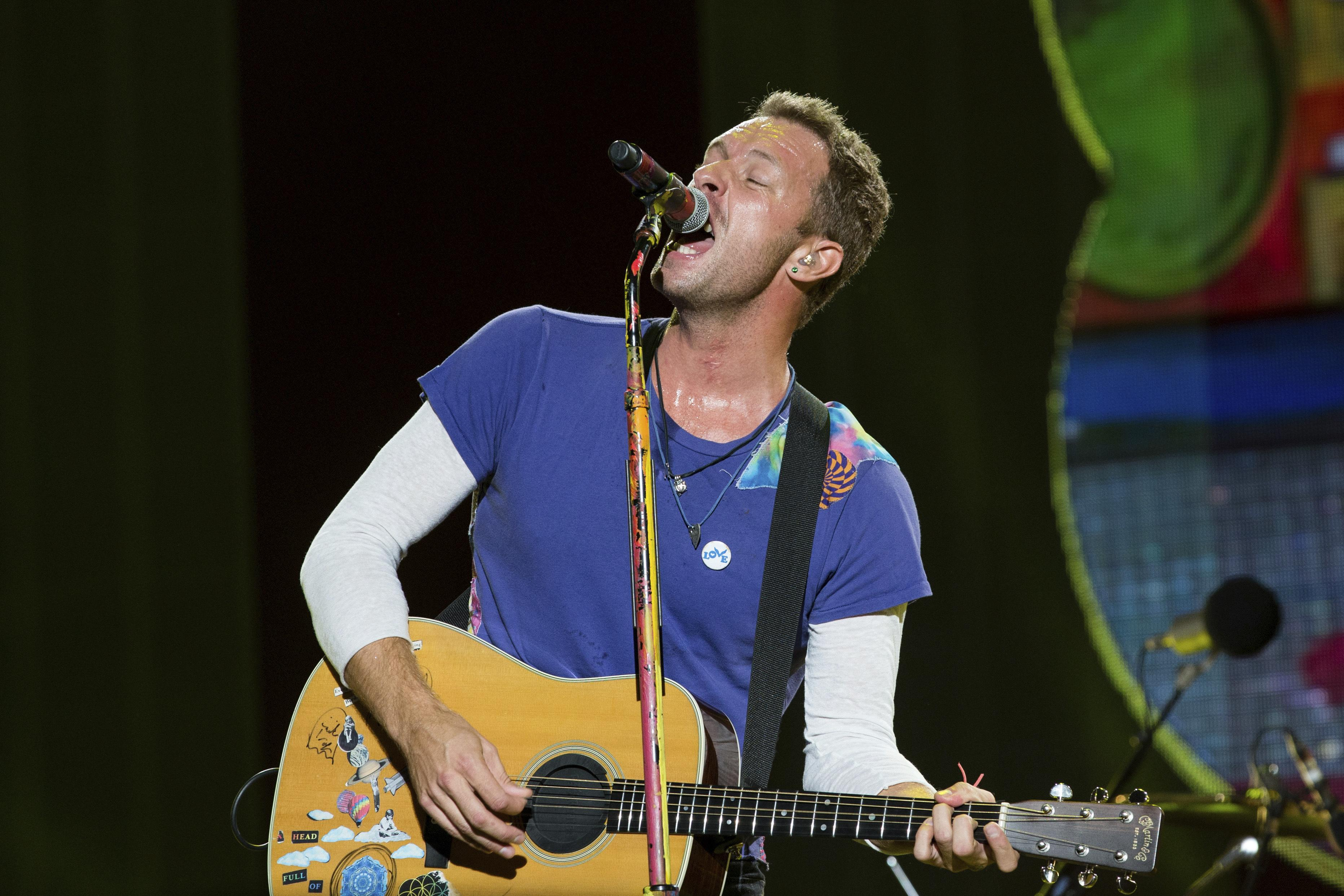 Coldplay stops touring until concerts are more environmentally friendl