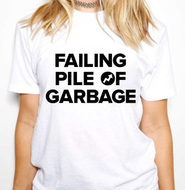 BuzzFeed sells 'failing pile of garbage' shirts after Trump