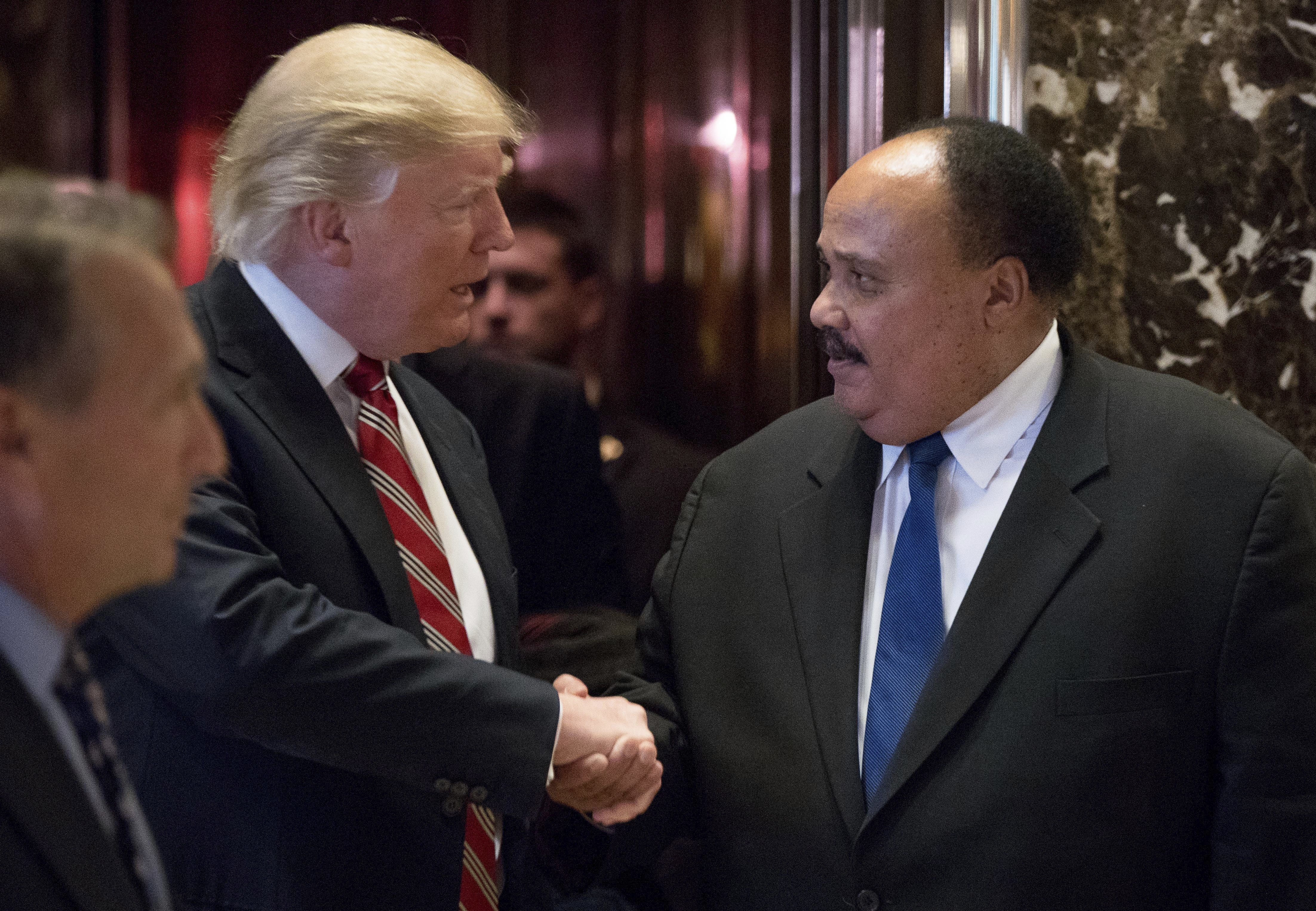 Martin Luther King Iii Trump Intends To Represent All Americans