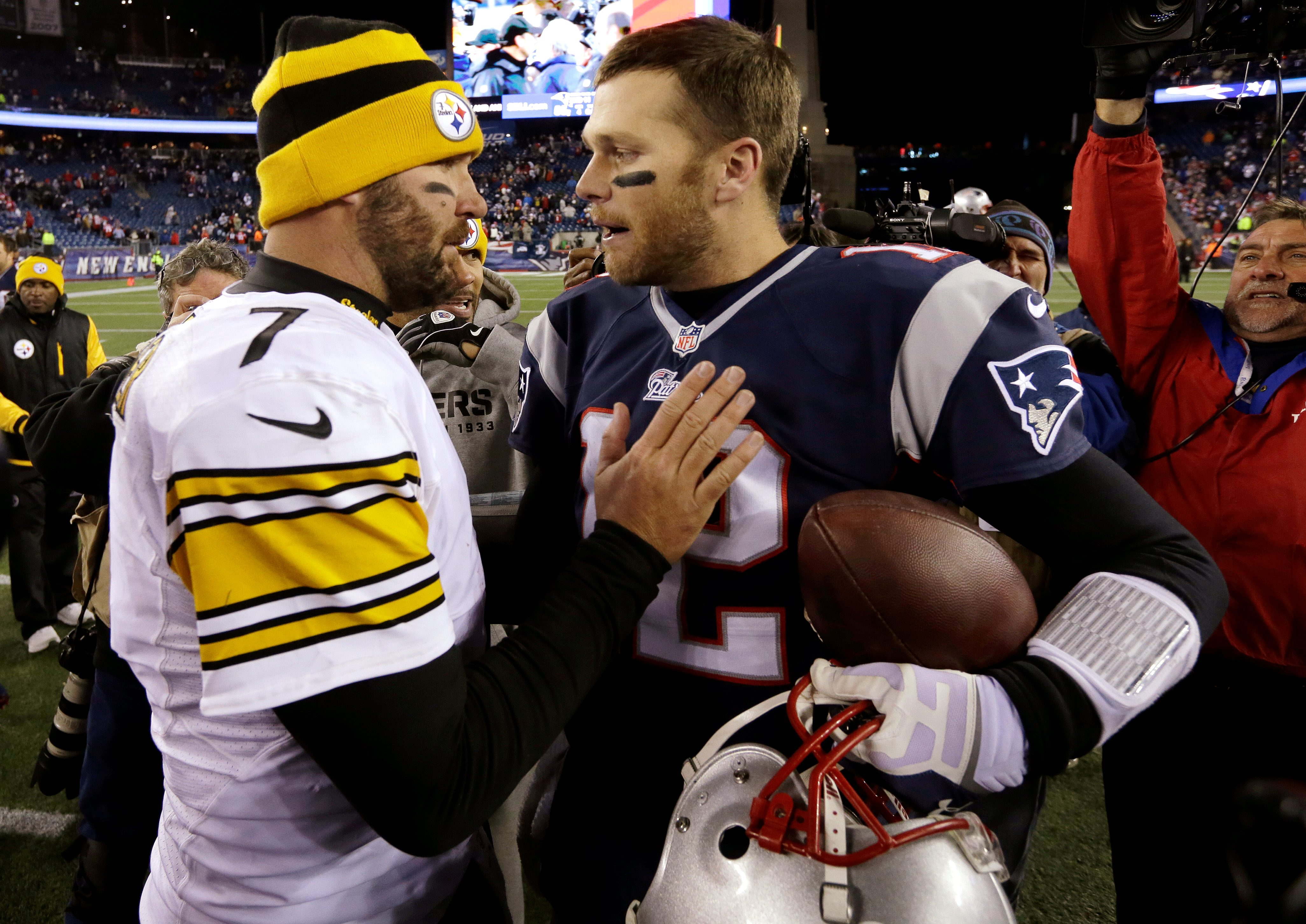 Ben Roethlisberger hoping to play up to Tom Brady's 'gold standard ...