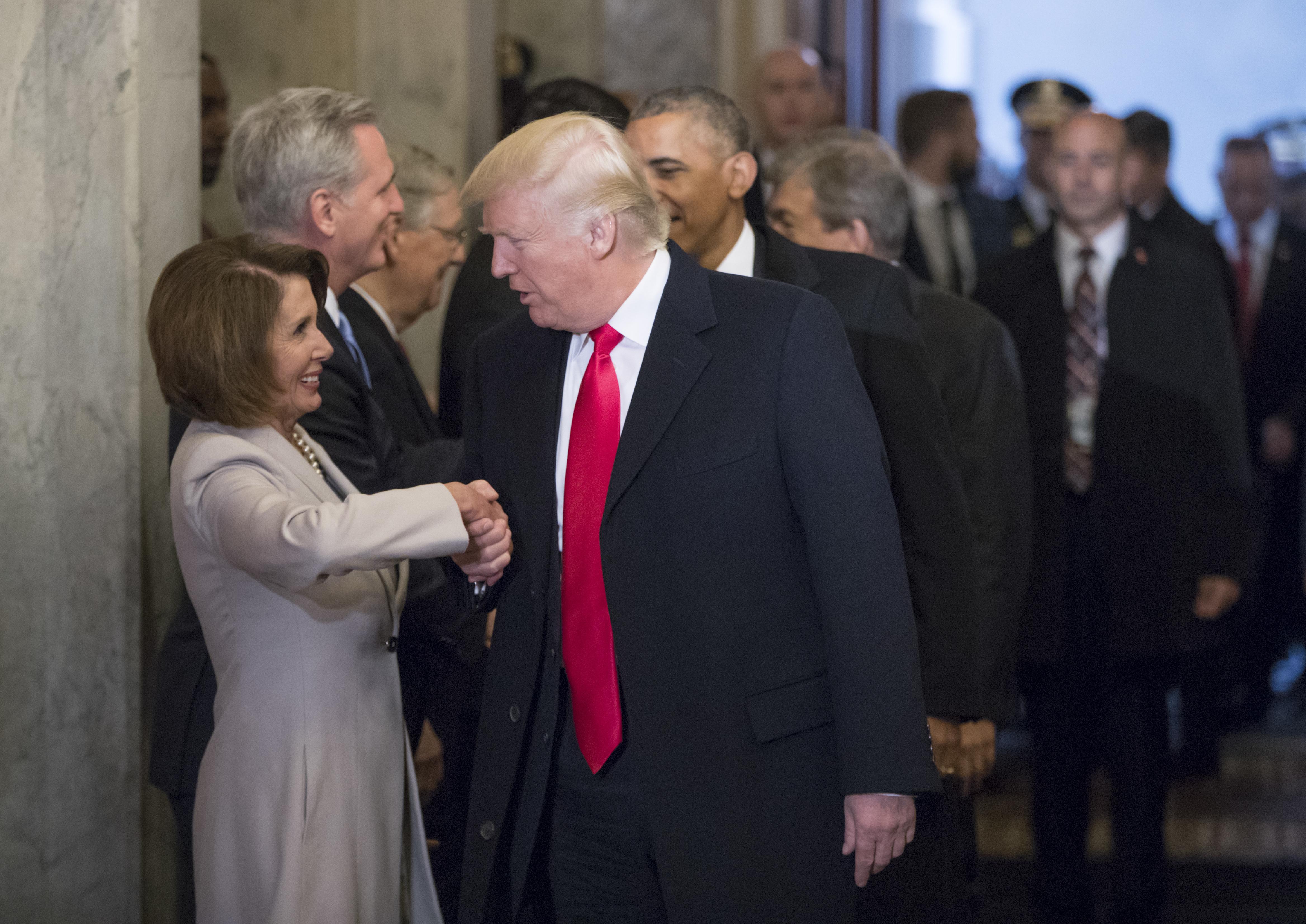 Donald Trump Endorses Nancy Pelosi For Speaker Of The House