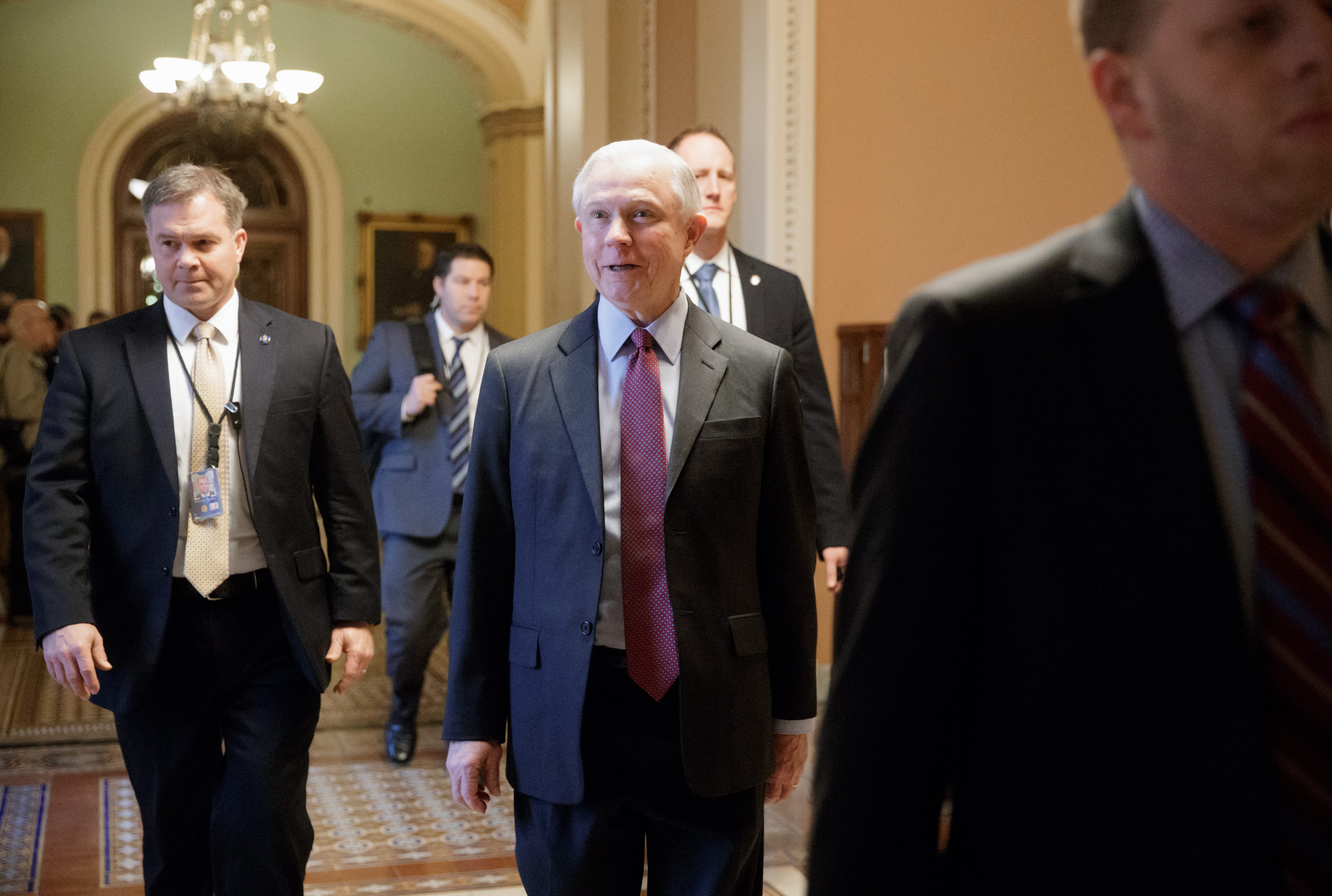 Jeff Sessions, Steven Mnuchin, Tom Price pass first test votes in ...